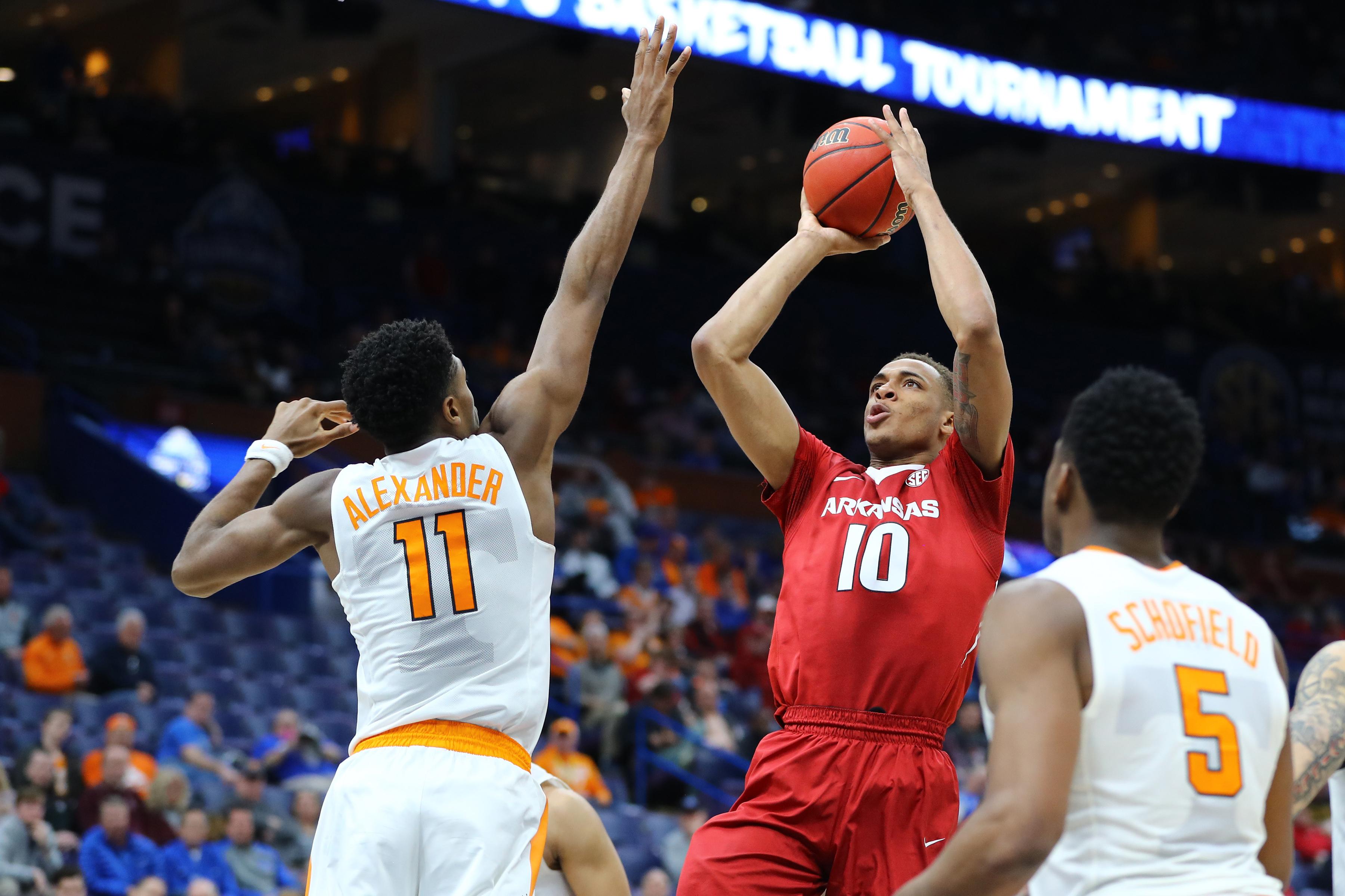 NCAA Basketball: SEC Conference Tournament-Tennessee vs Arkansas