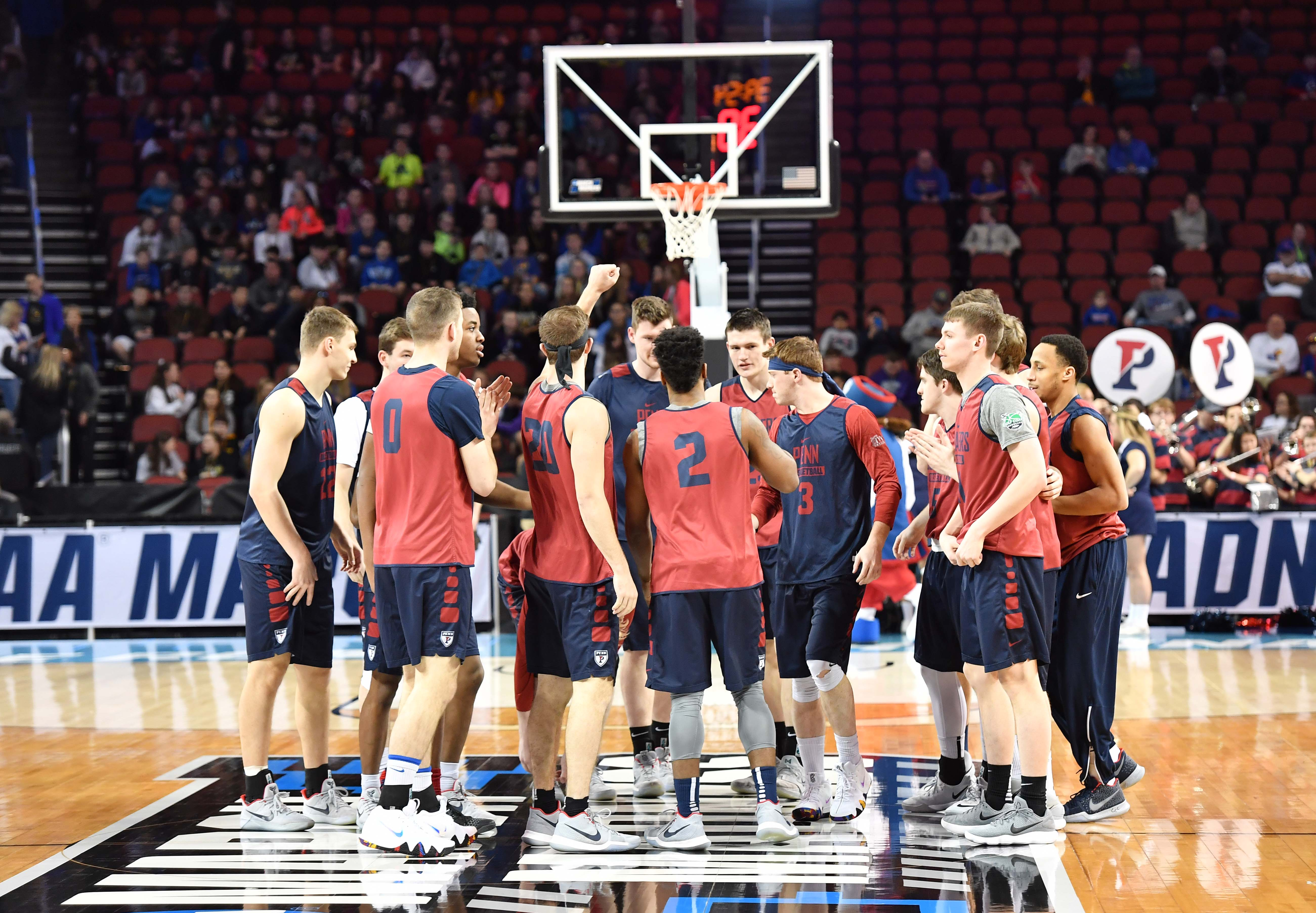 These are the Pennsylvania Quakers. They are your favorite team today.