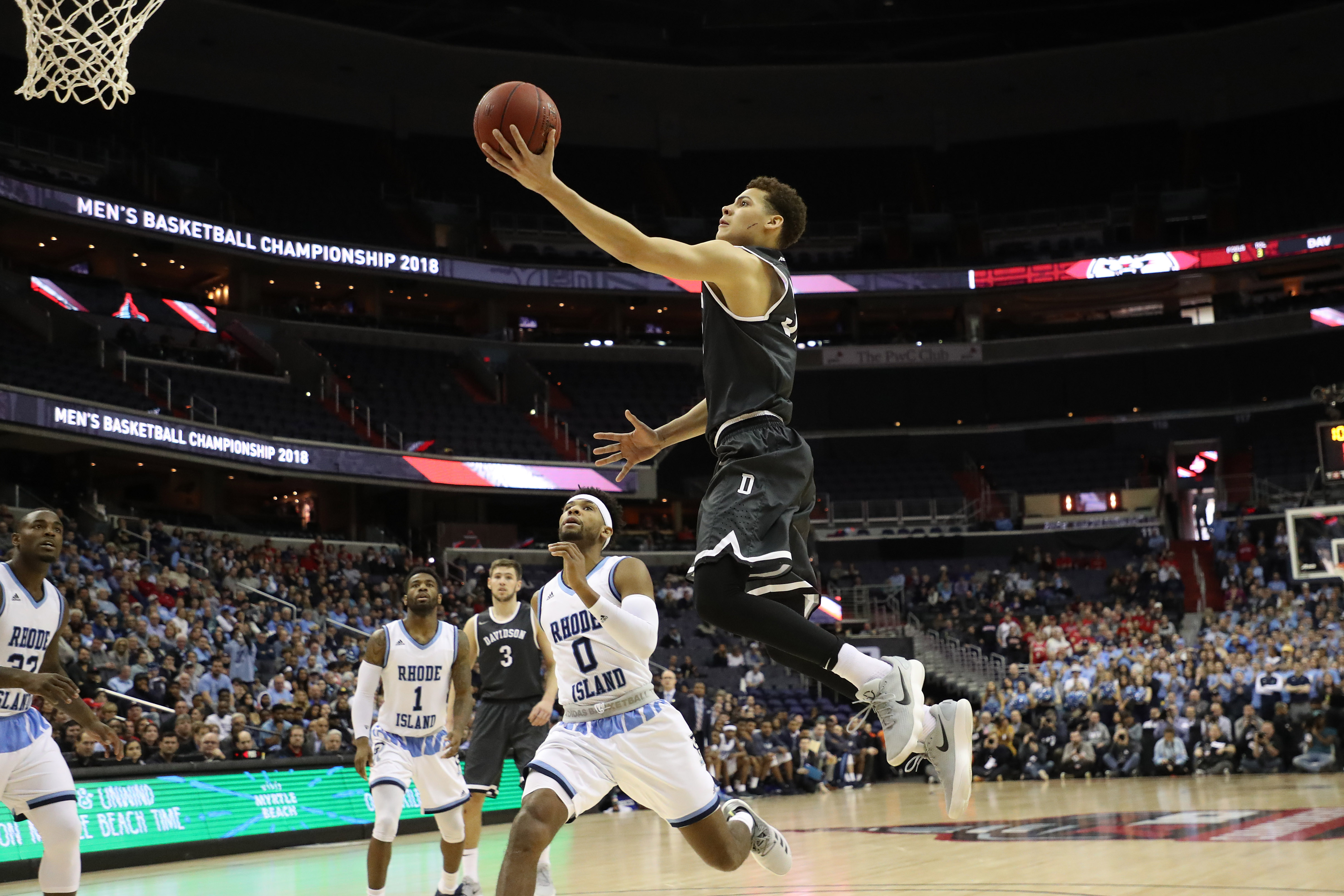 The Davidson Wildcats shocked the A-10. Can they do the same to another set of Wildcats?