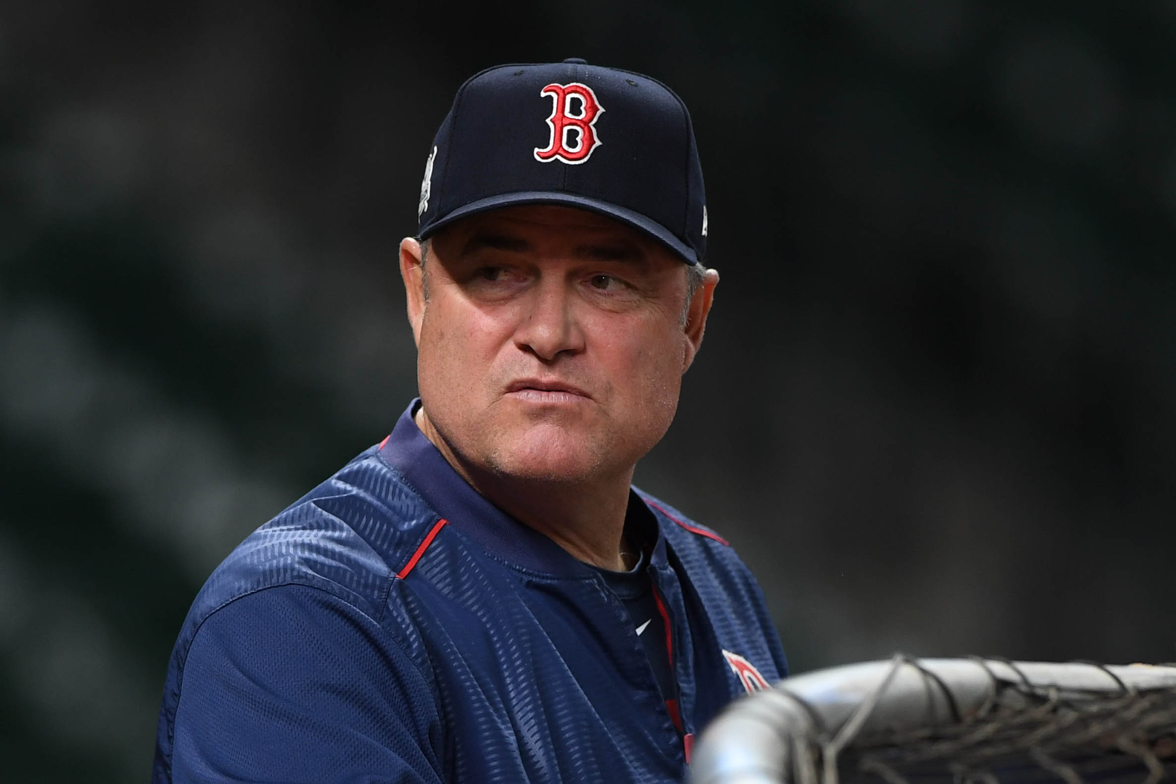 MLB: ALDS-Boston Red Sox Workouts