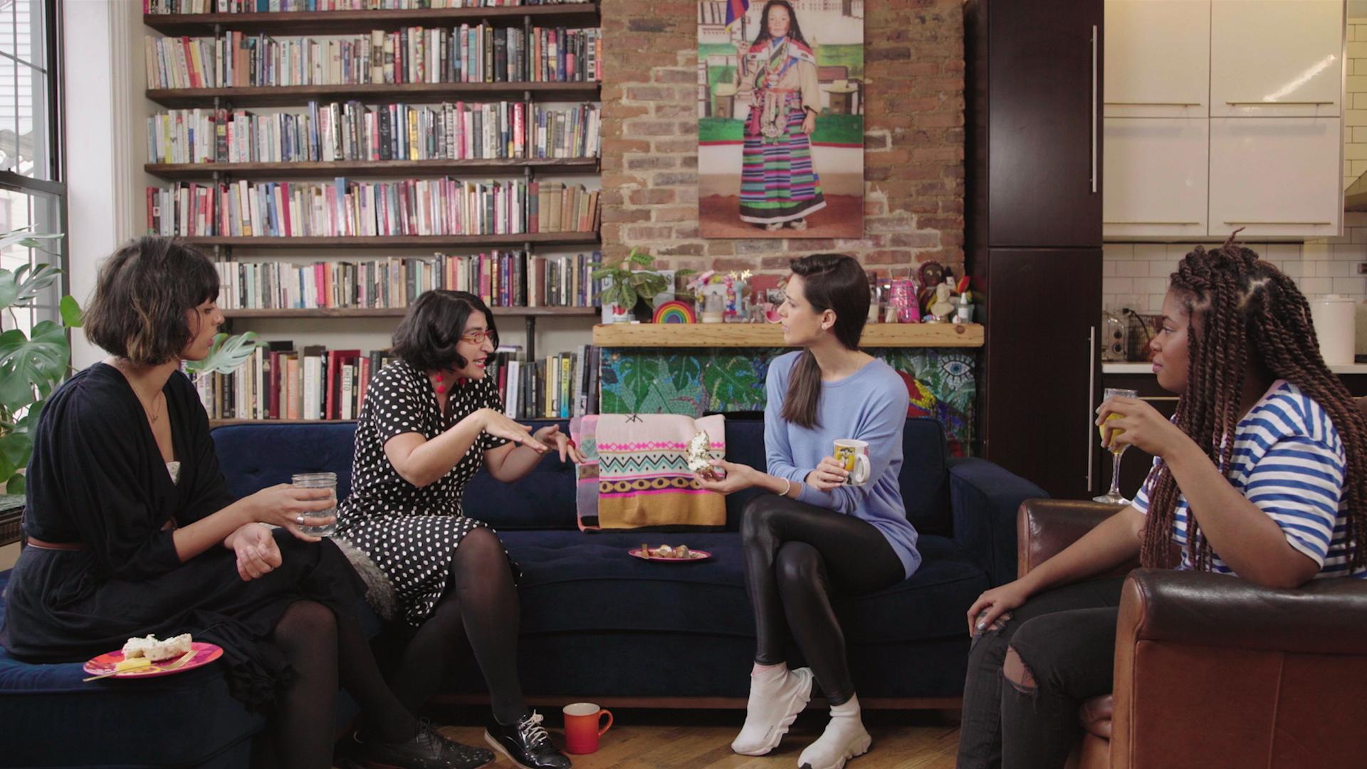 Liz Plank sits down with comedians Negin Farsad and Akilah Hughes and filmmaker Faz Aslam