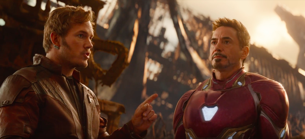 Avengers Infinity War: when the Guardians of the Galaxy met Iron Man