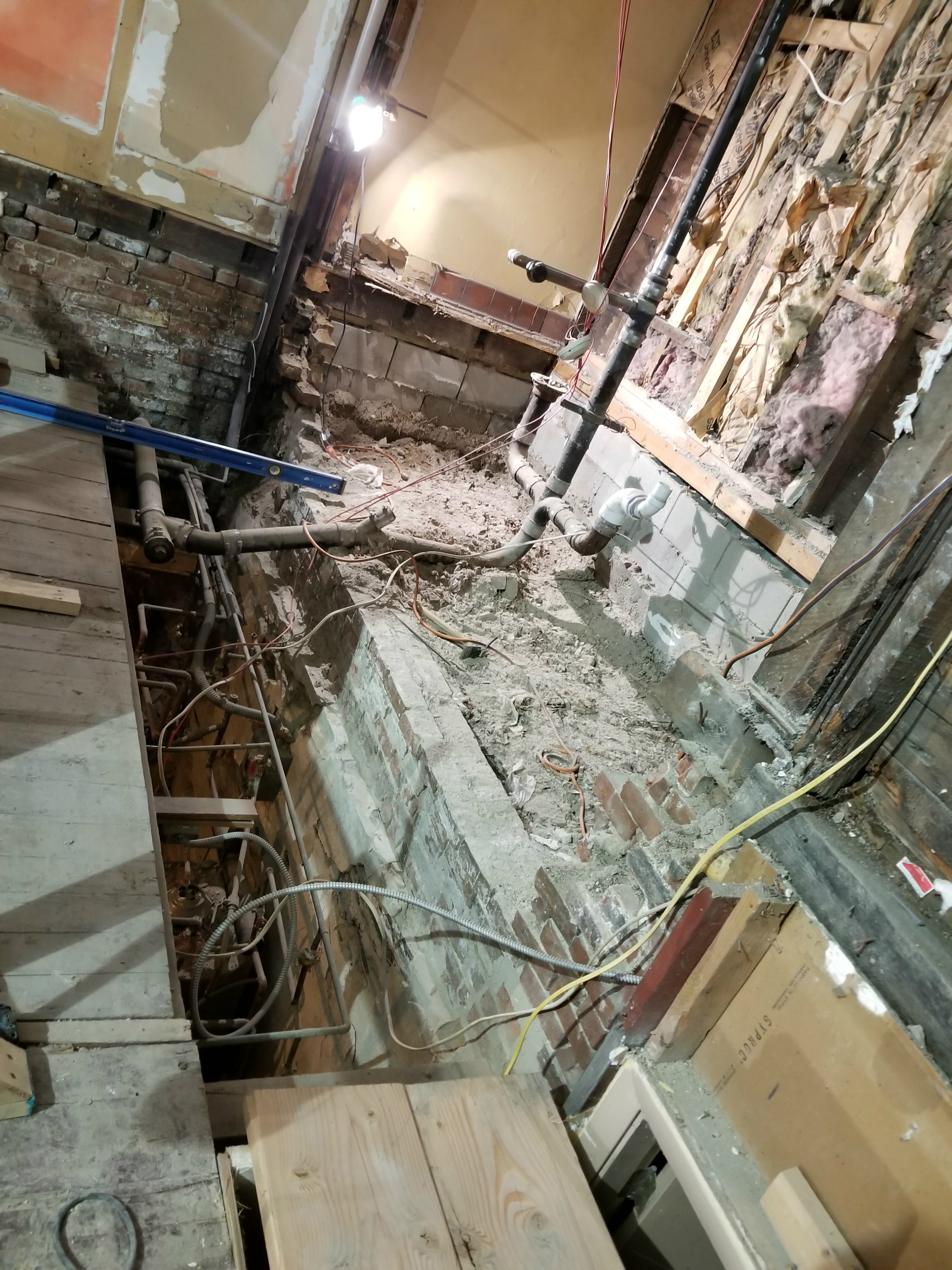 Construction at Revival
