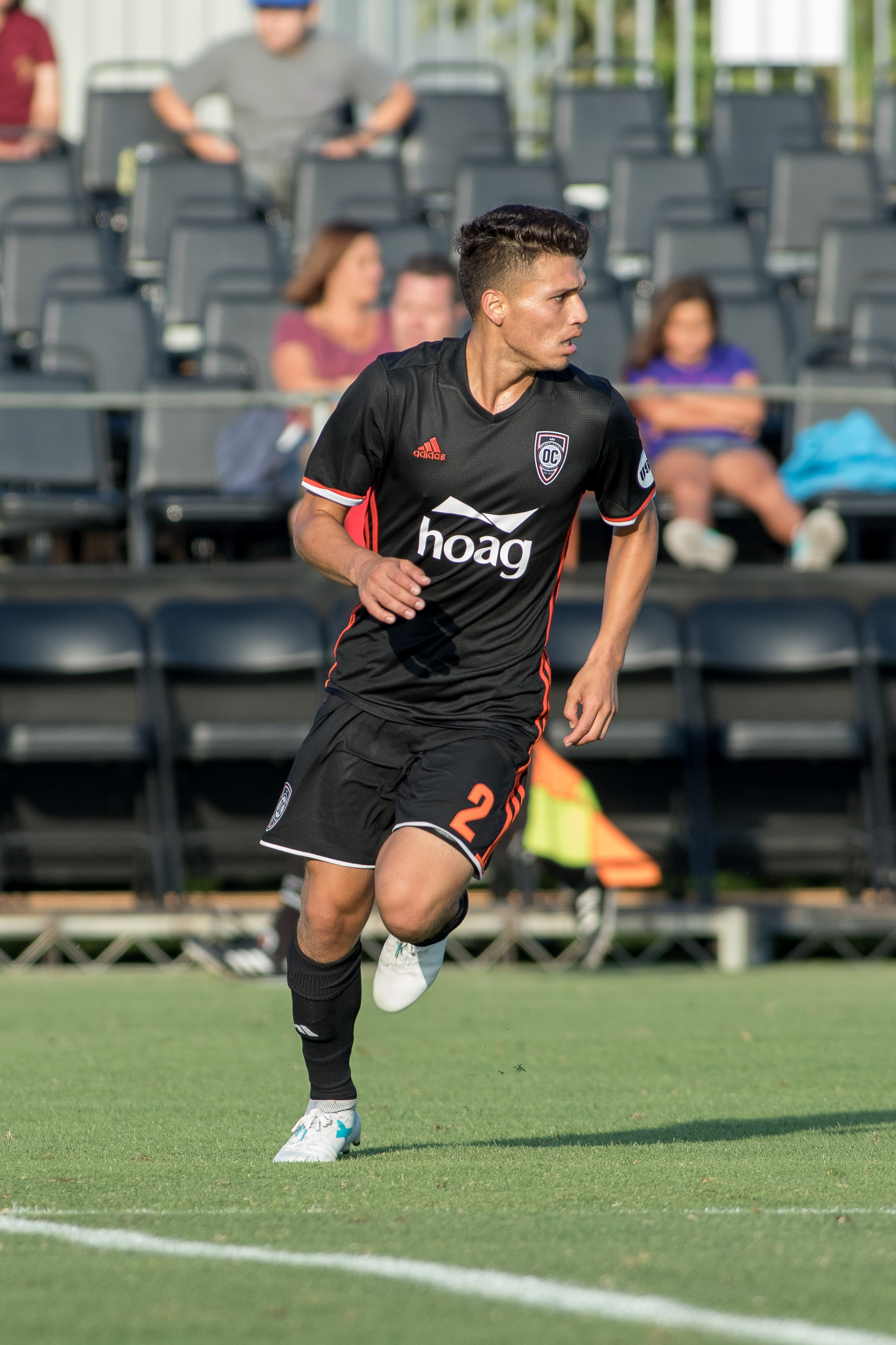 Oscar Sorto is one of the returning players for Orange County SC in 2018.