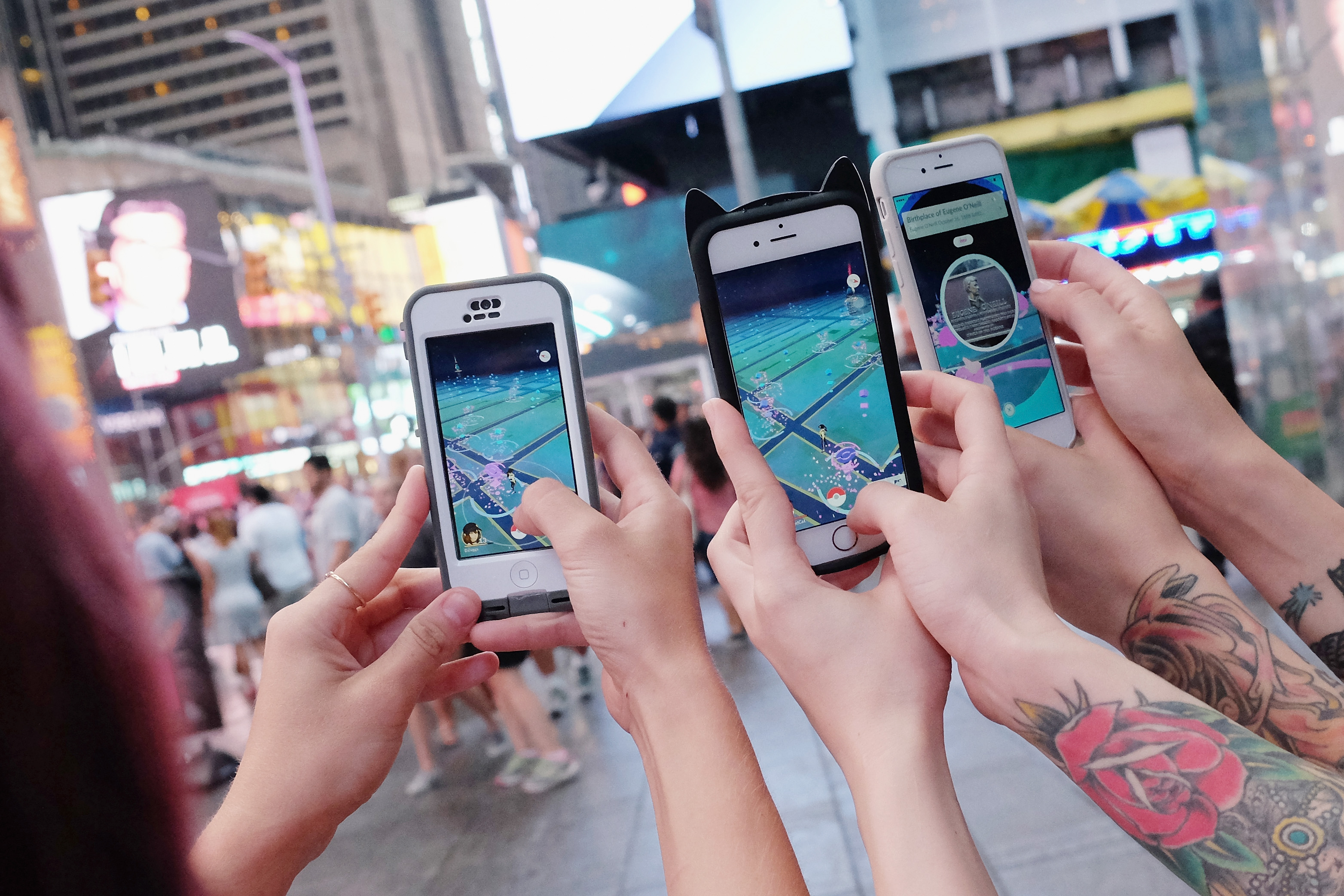 Pokémon Go's login update fixes one of the game's most annoying
