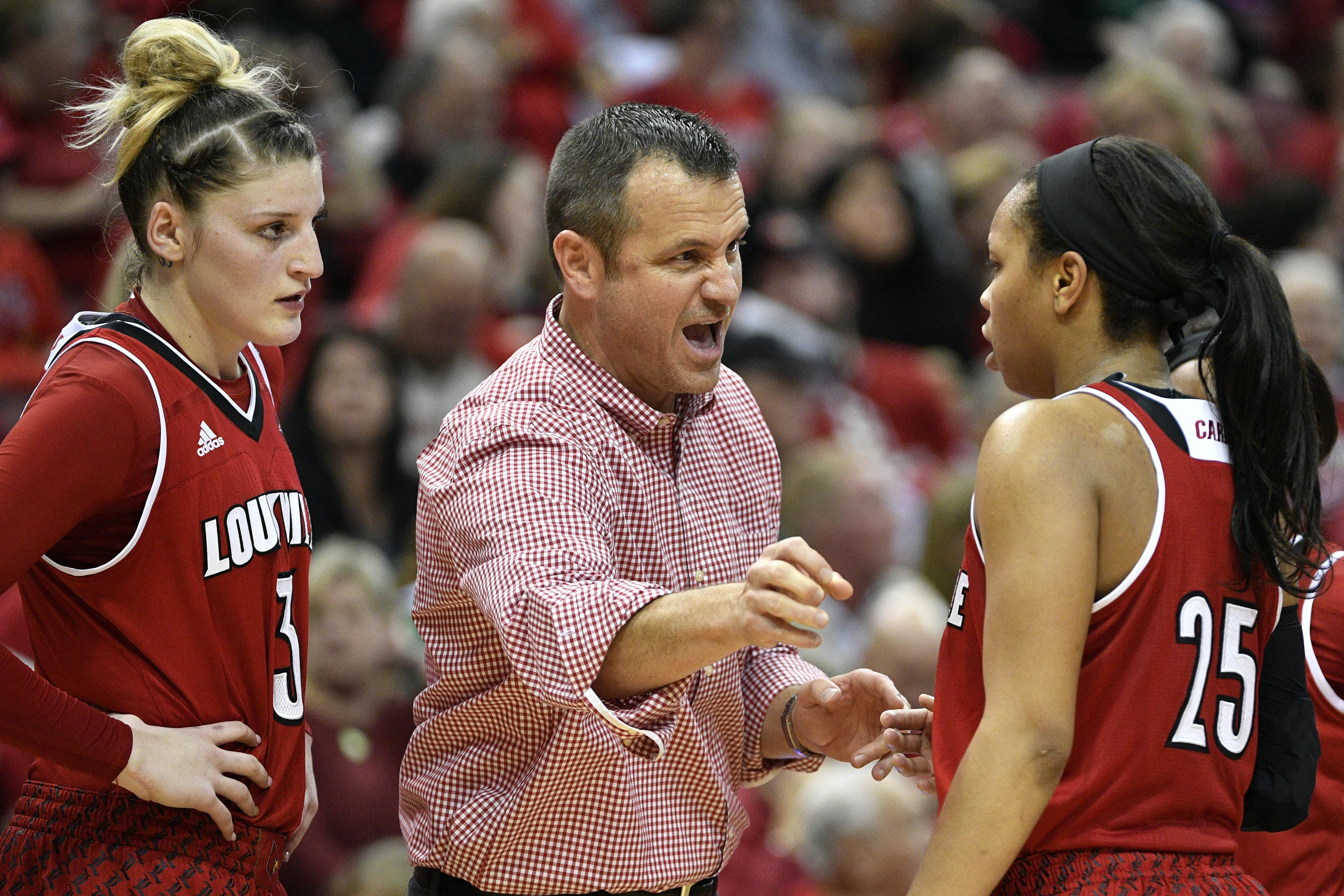 NCAA Womens Basketball: Notre Dame at Louisville