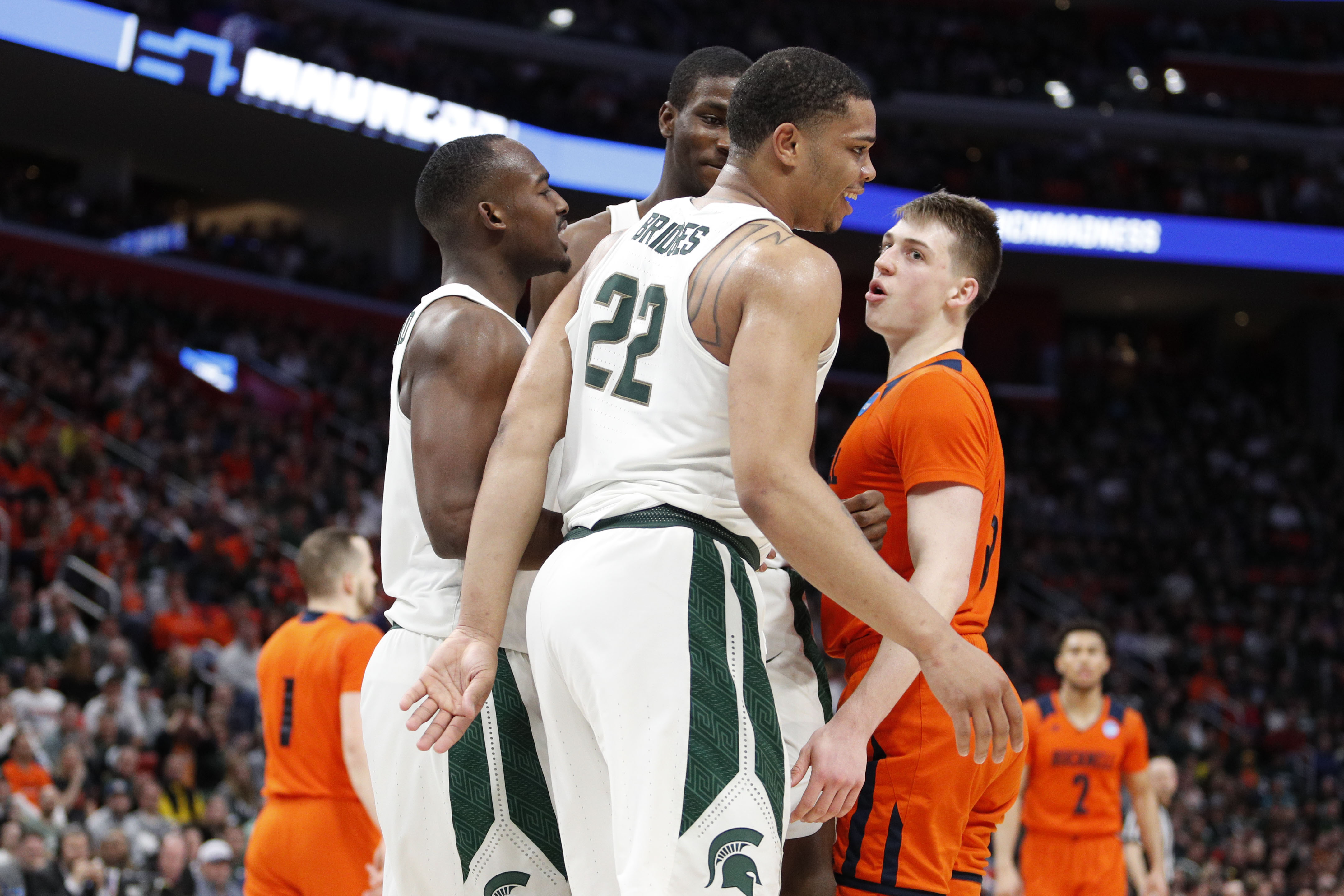 NCAA Basketball: NCAA Tournament-First Round: Syracuse Orange vs Michigan State Spartans