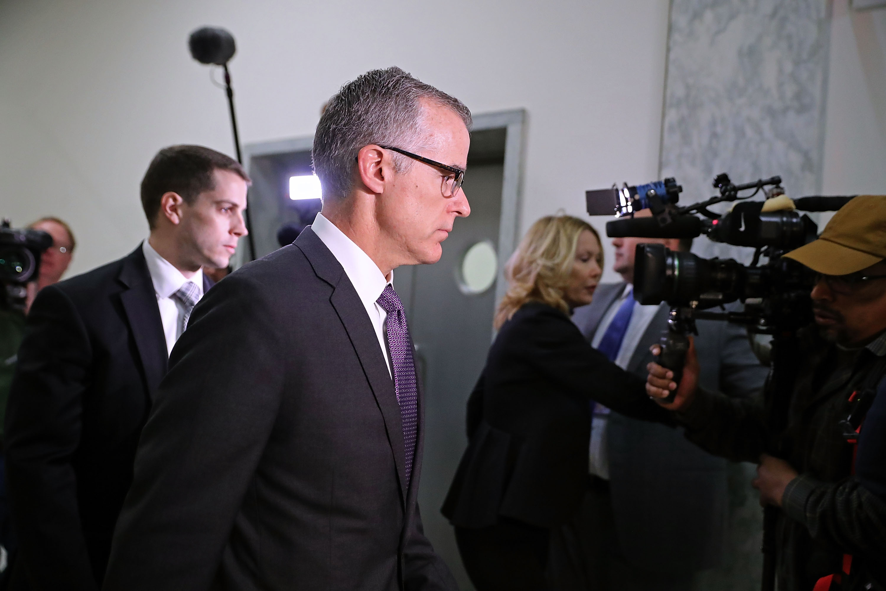 Former FBI Deputy Director Andrew McCabe's fiery statement about Sessions's decision to fire him