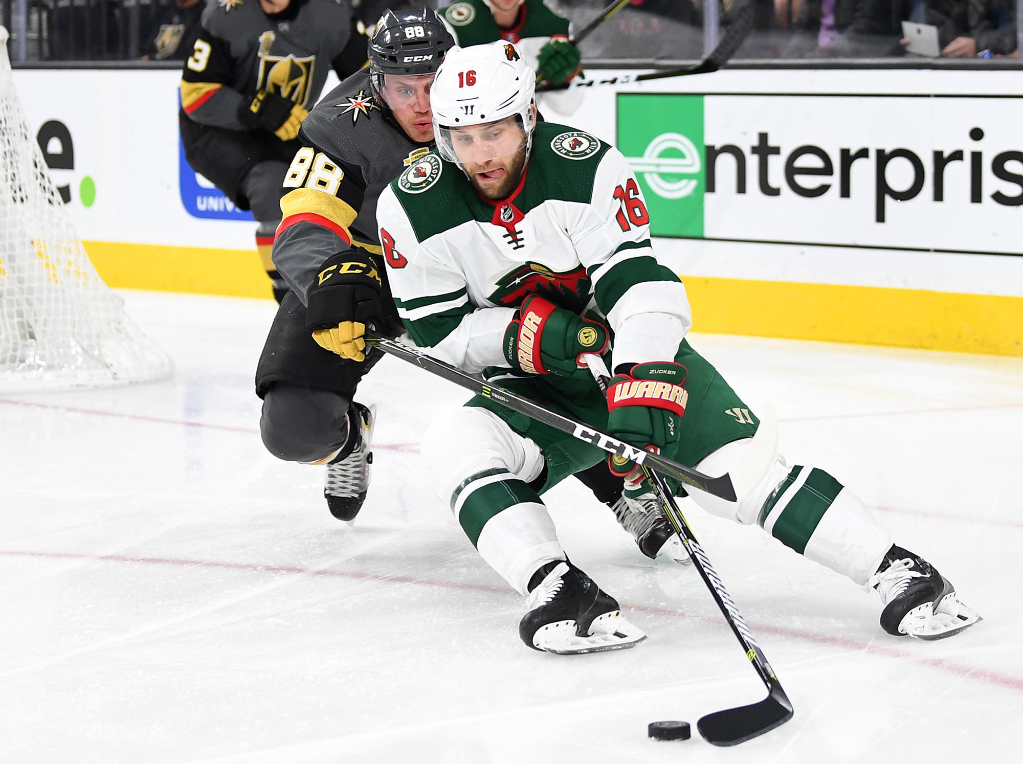 NHL: Minnesota Wild at Vegas Golden Knights
