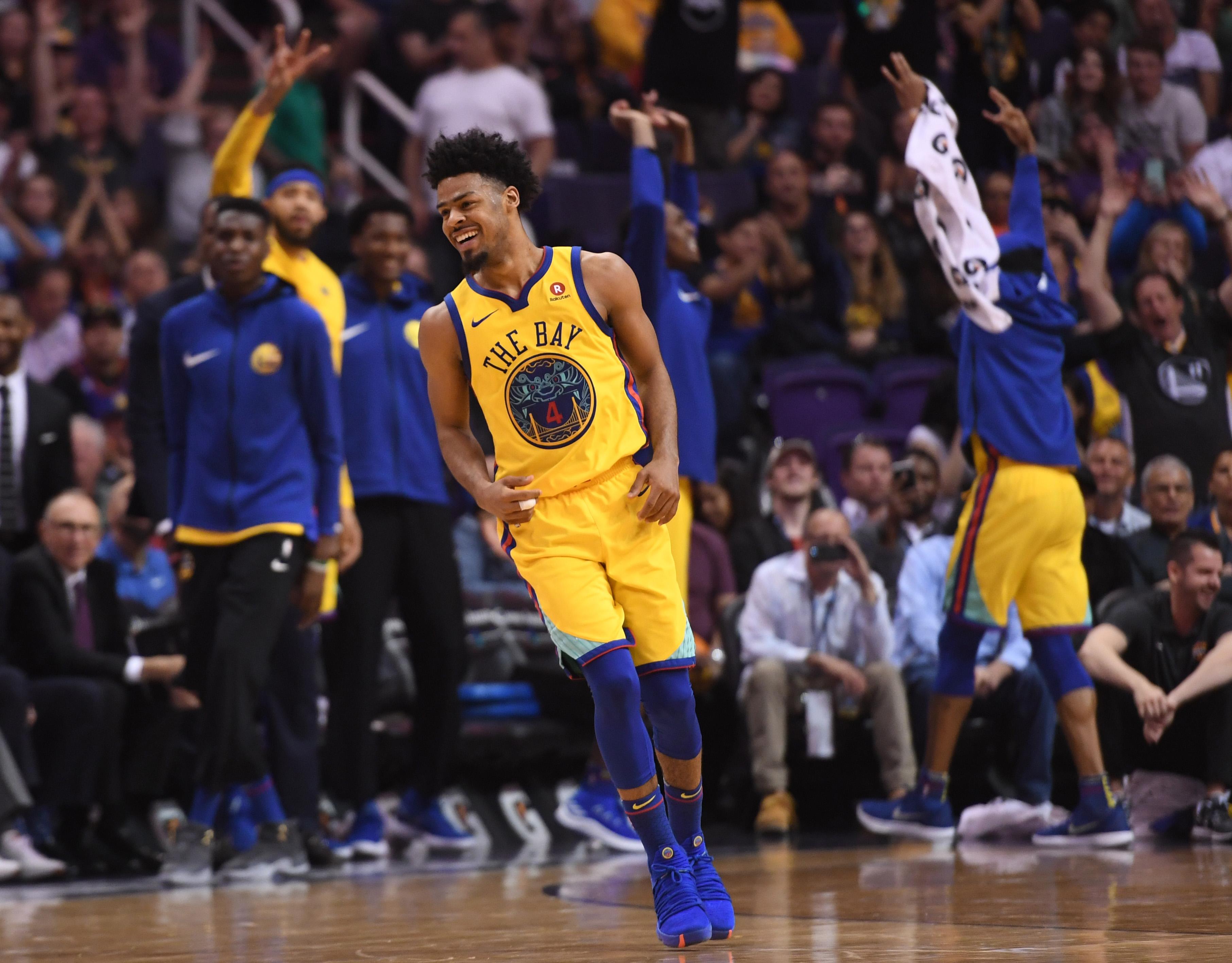 NBA: Golden State Warriors at Phoenix Suns
