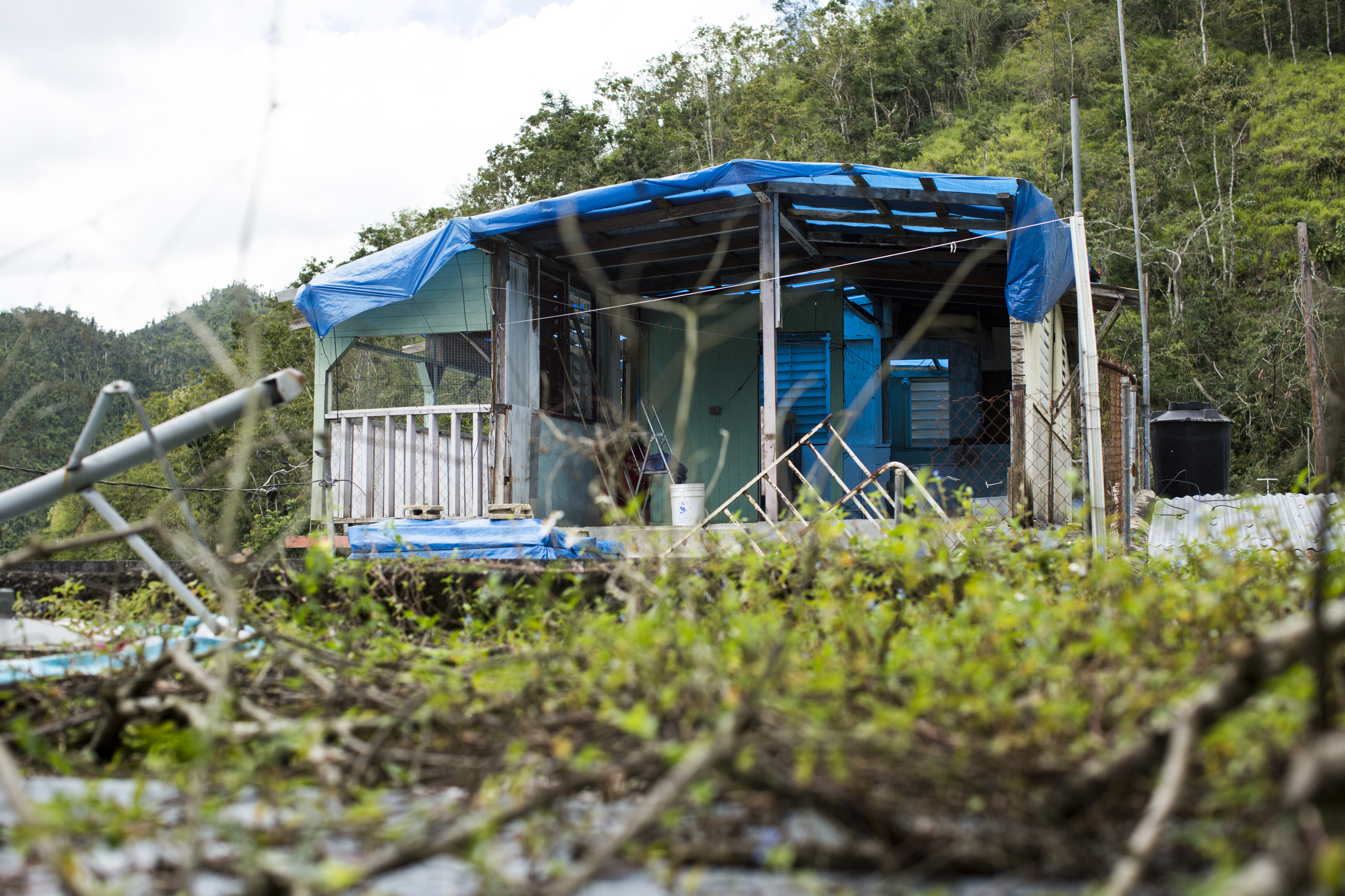 6 months after Hurricane Maria, Puerto Rico has a suicide crisis and a housing shortage