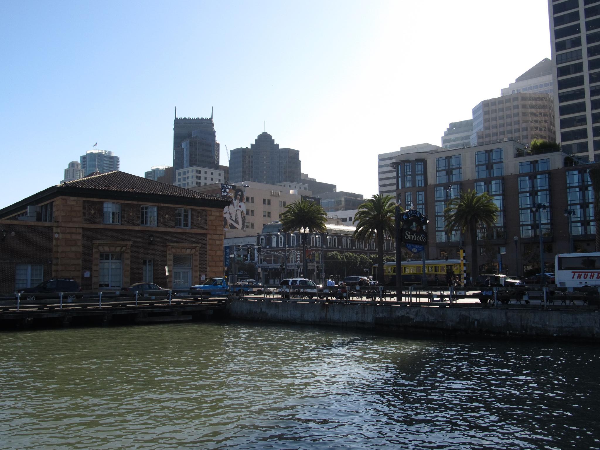 The San Francisco waterfront.