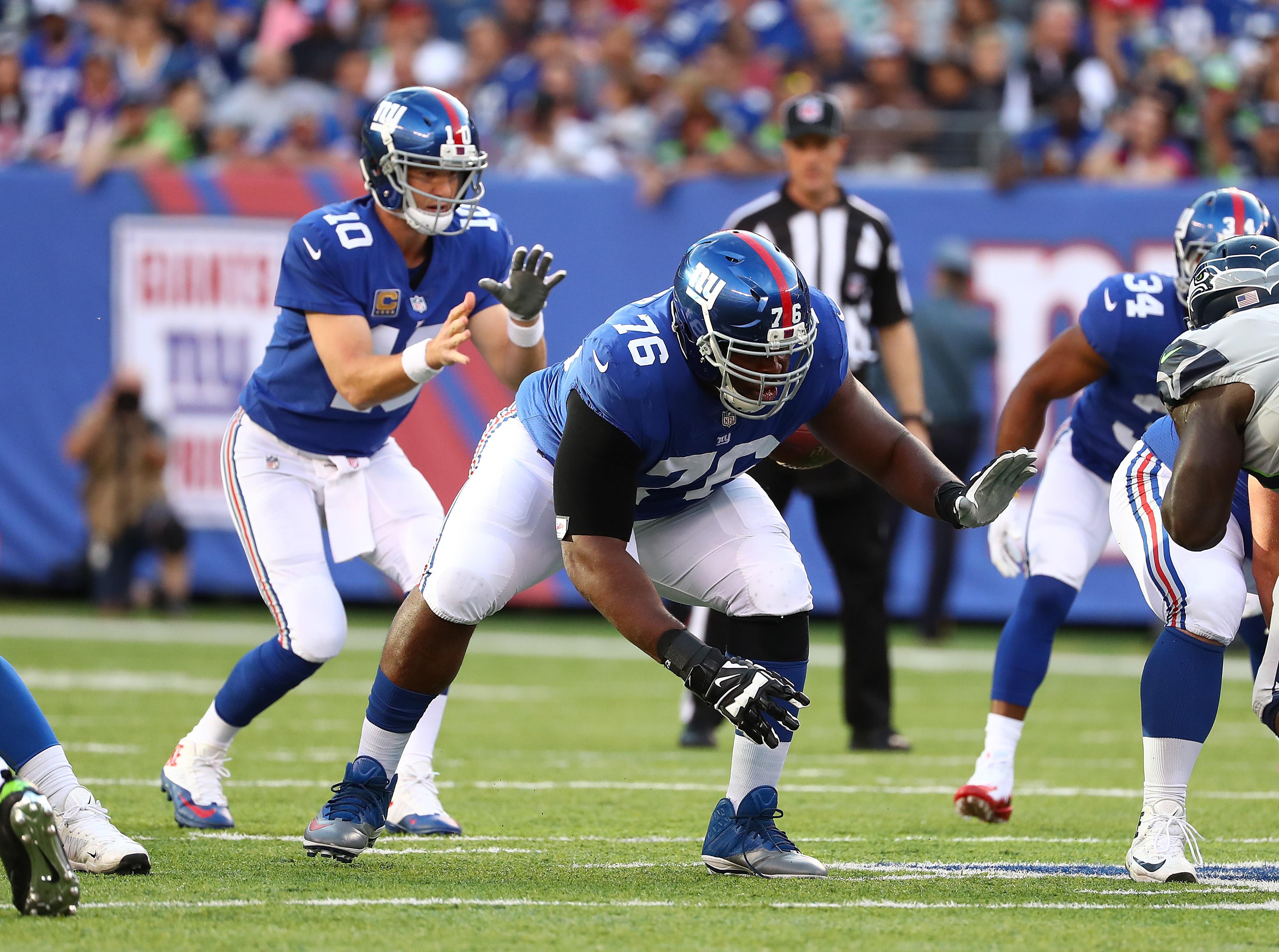 Seattle Seahawks vsNew York Giants
