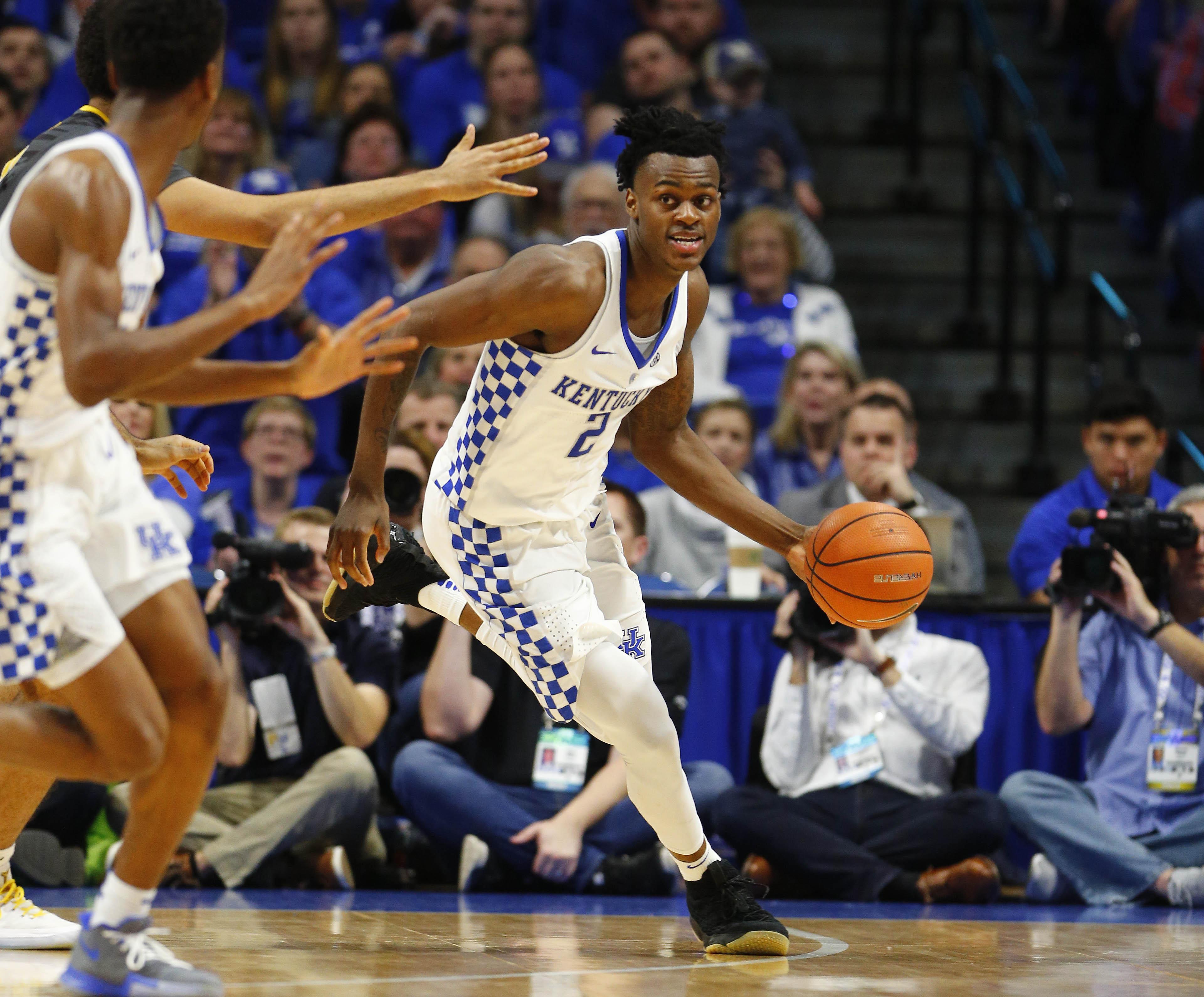 NCAA Basketball: Missouri at Kentucky