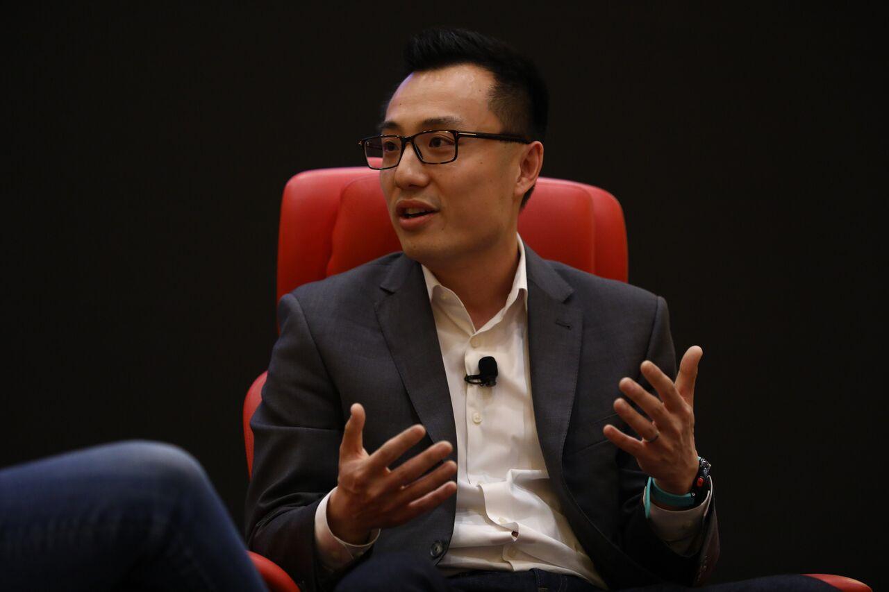 DoorDash founder and CEO Tony Xu