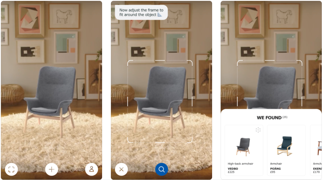 Ikeas ar app now lets you search with your phone camera