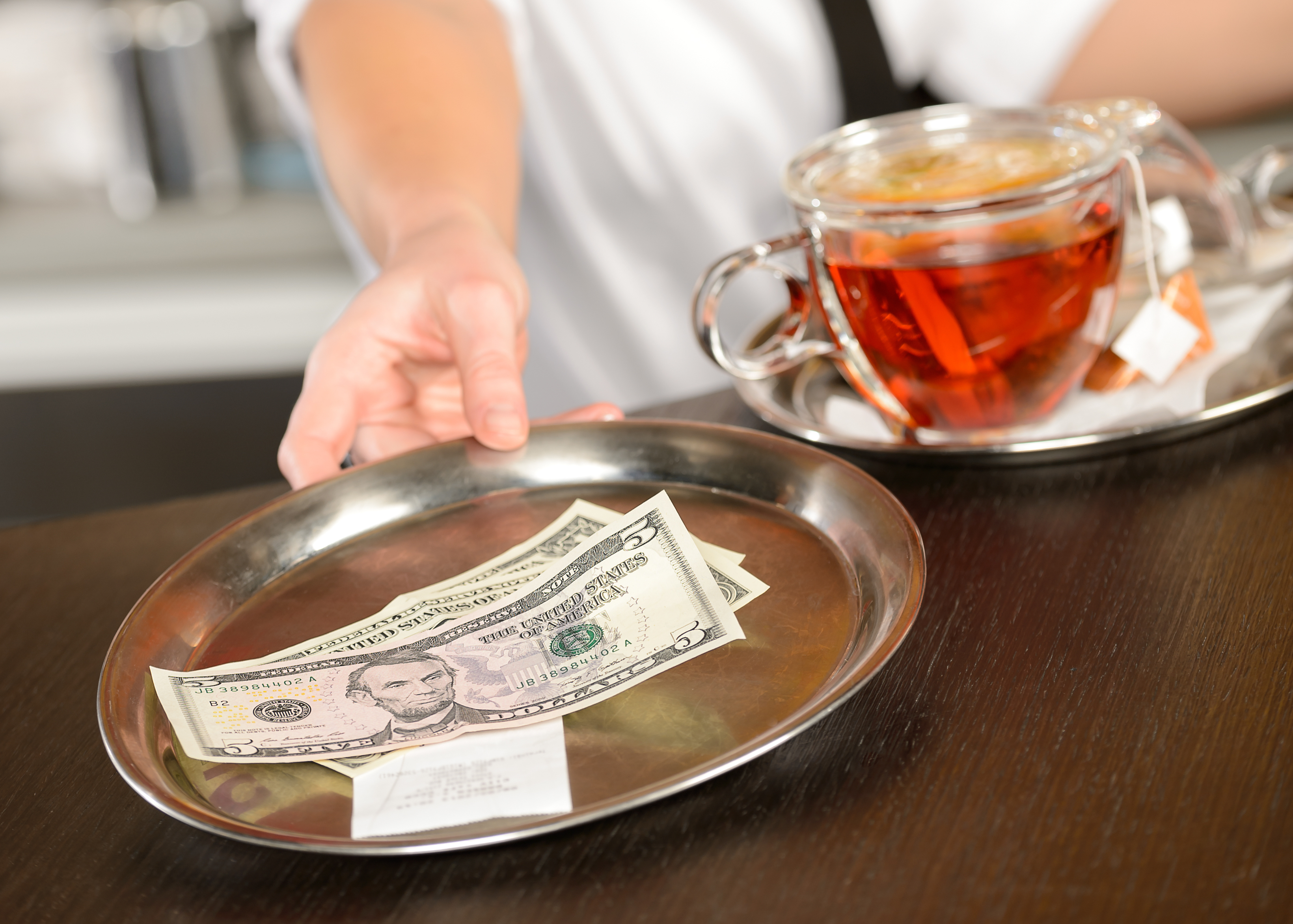 Servers' Tips Cannot Be Kept by Restaurant Managers