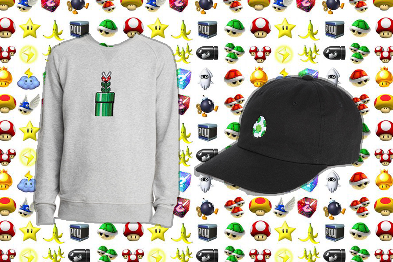 The Nintendo collection at Bloomingdale's combines retro gaming with trendy fashion