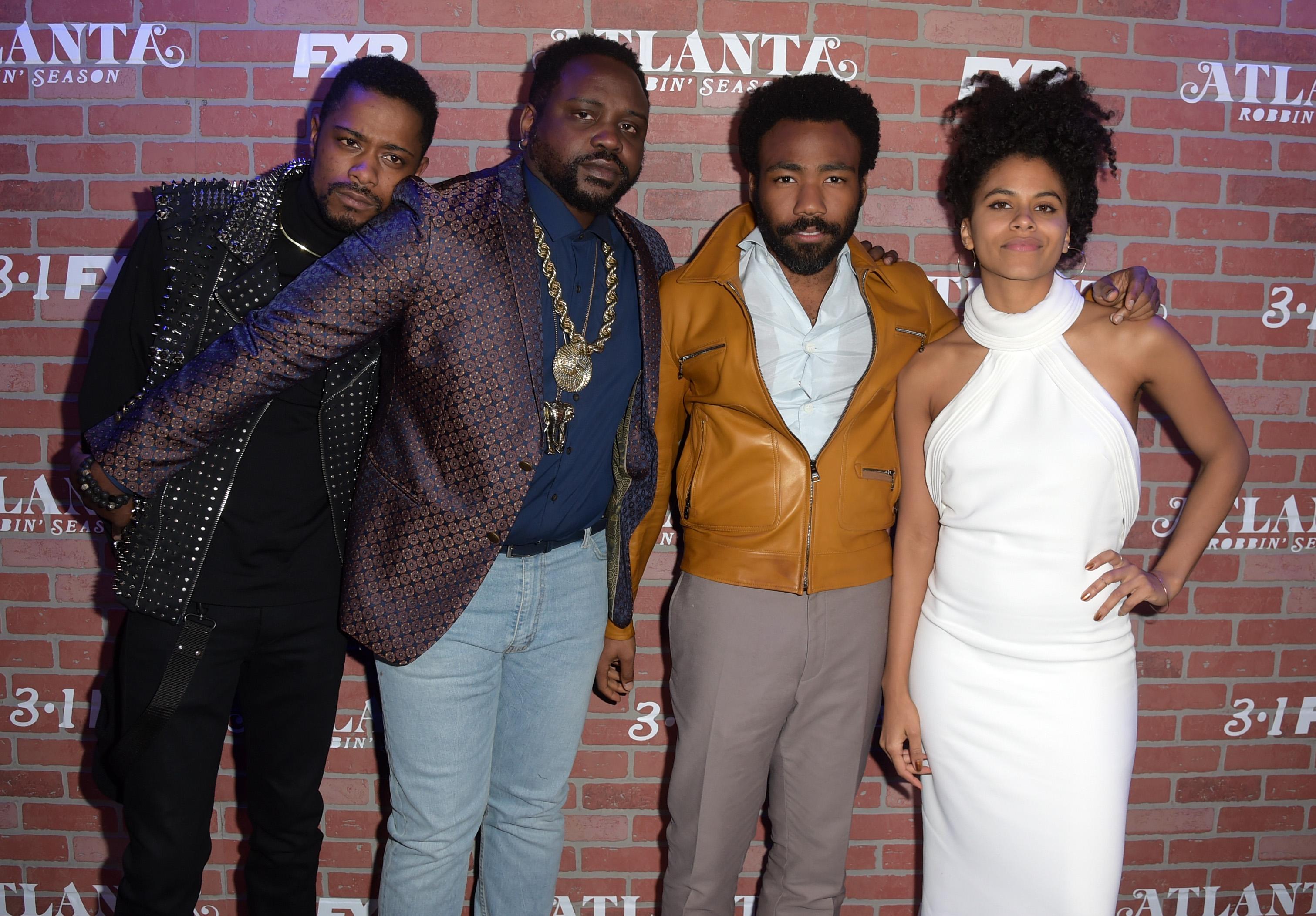 Premiere For FX's 'Atlanta Robbin' Season' - Red Carpet