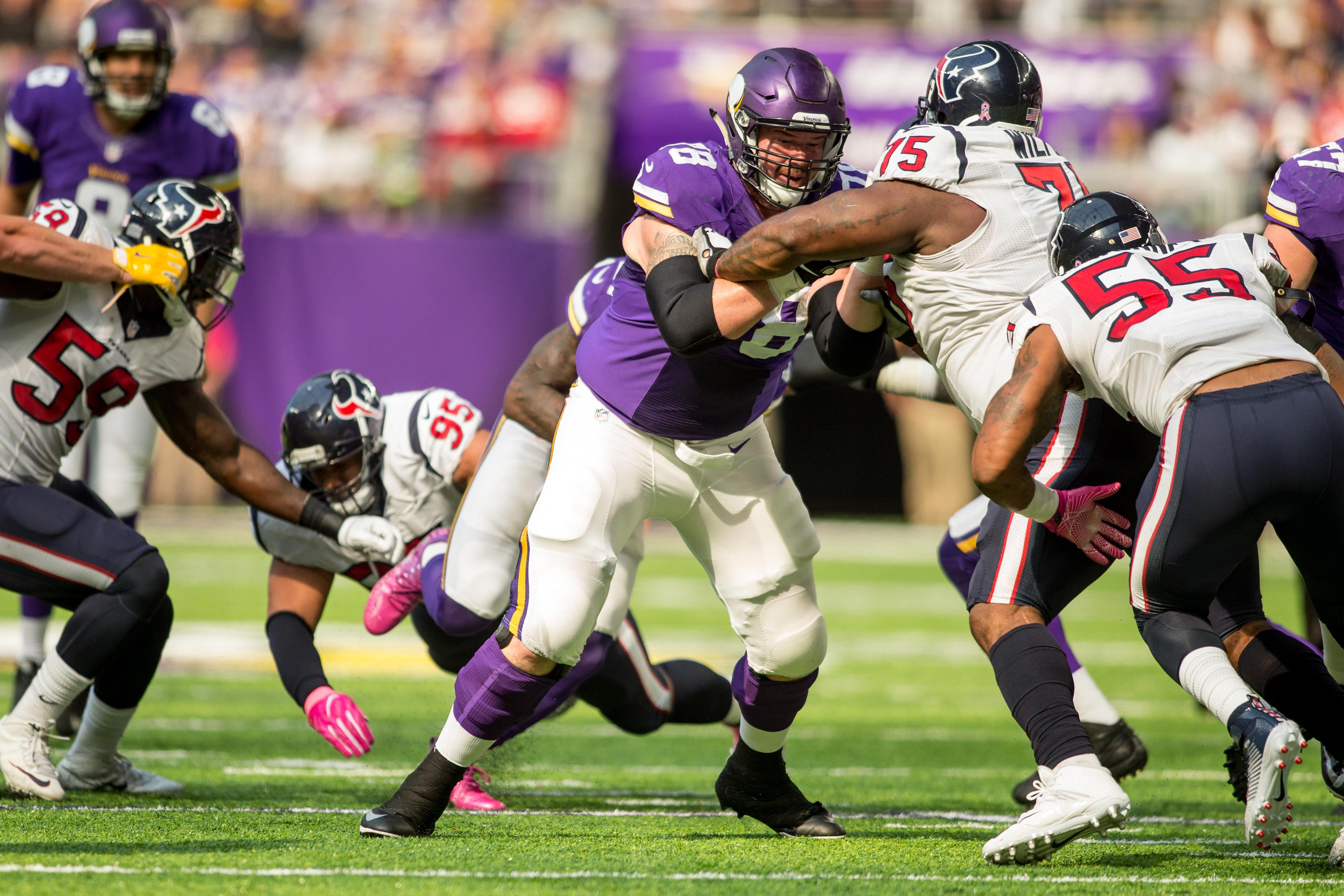 NFL: Houston Texans at Minnesota Vikings