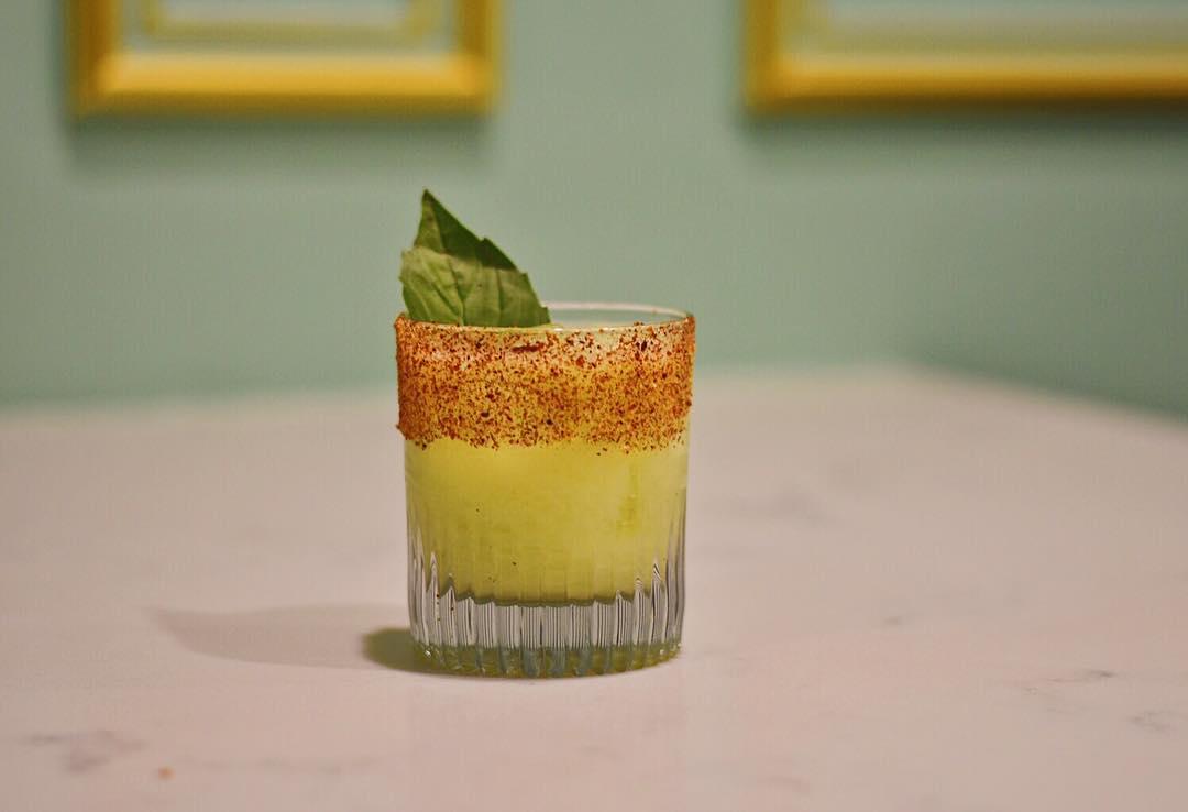 Broken Spanish cocktail at Blossom Bar