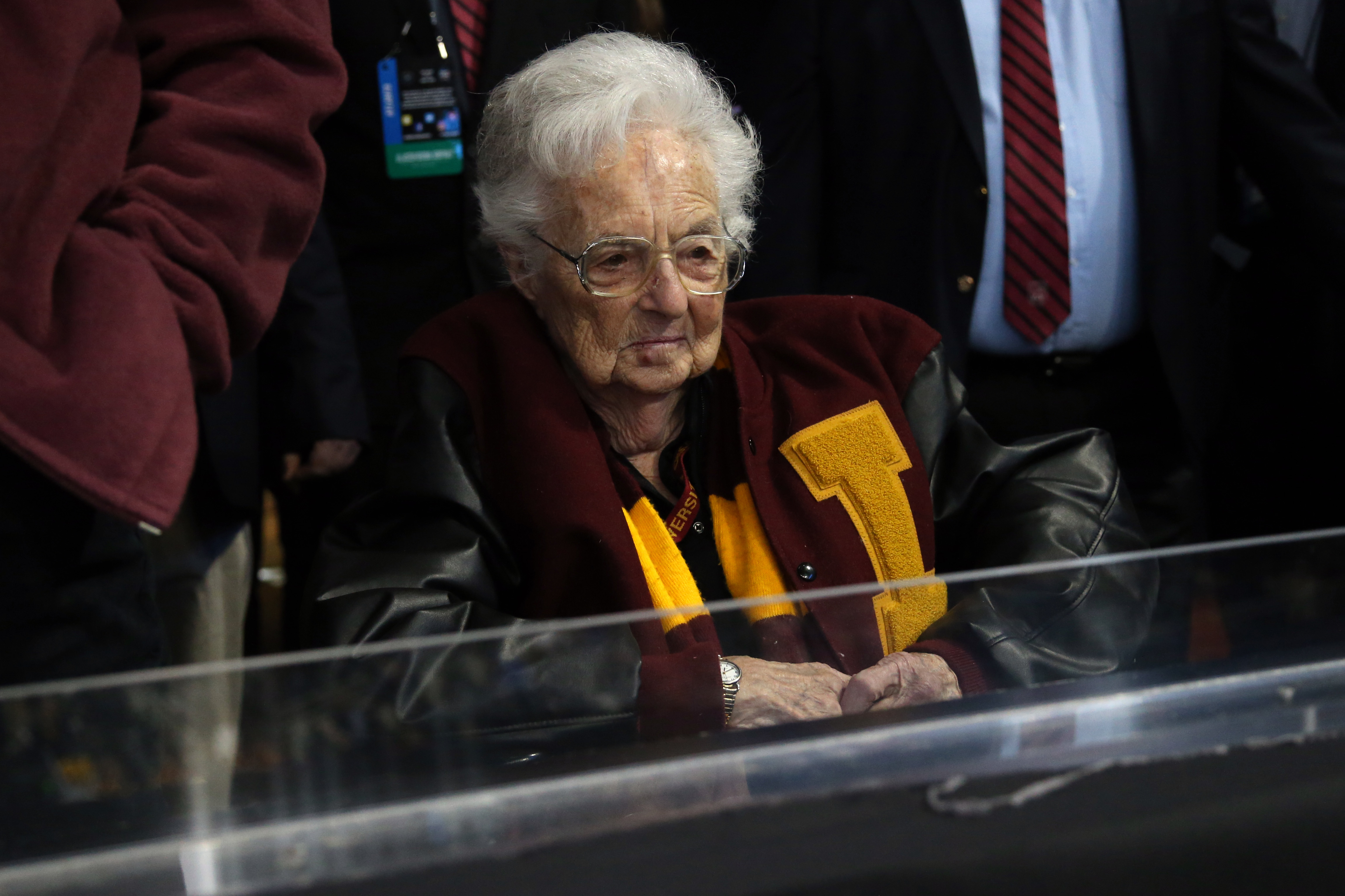 Seriously, Sister Jean has been a great story.