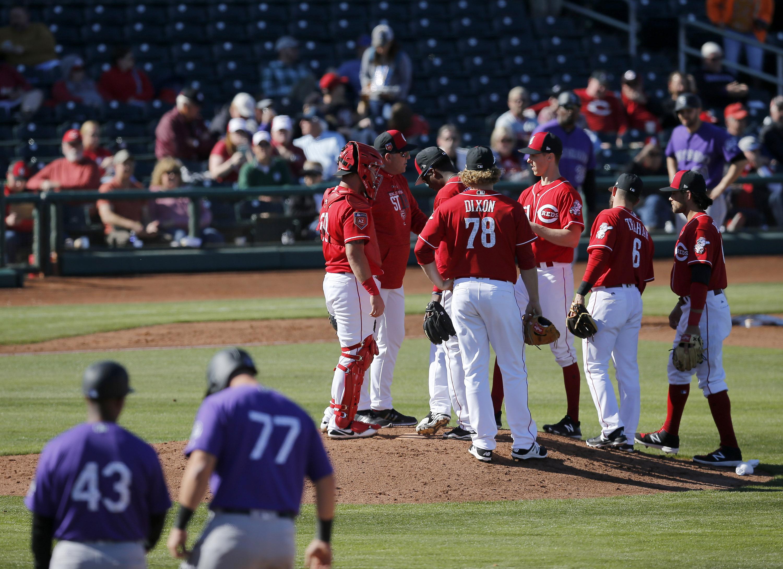 MLB: Spring Training-Colorado Rockies at Cincinnati Reds