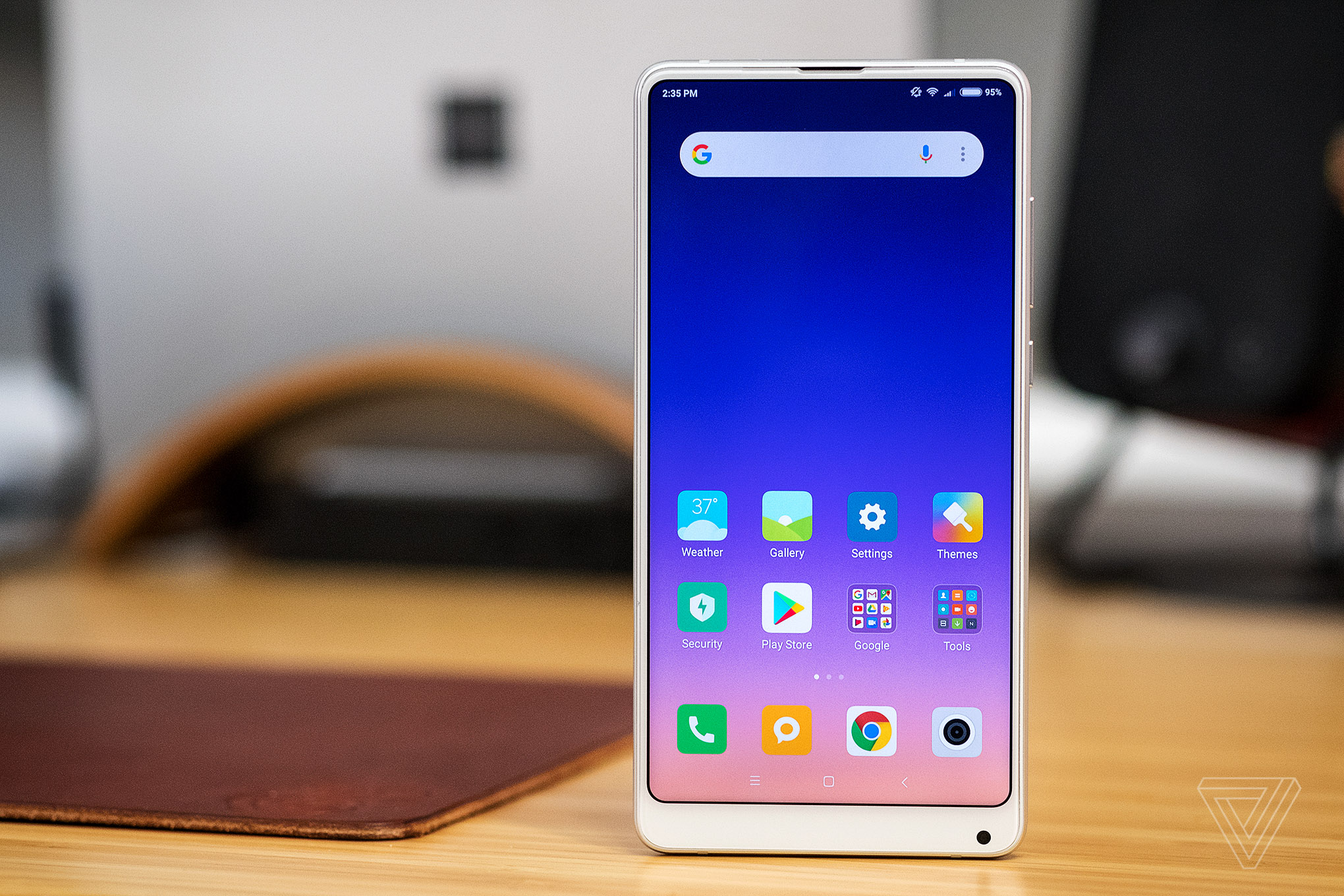 Xiaomi Says Its New Mi Mix 2s Has Better Features Than Apples Redmi 2 Ram 1 8gb Iphone X The Verge