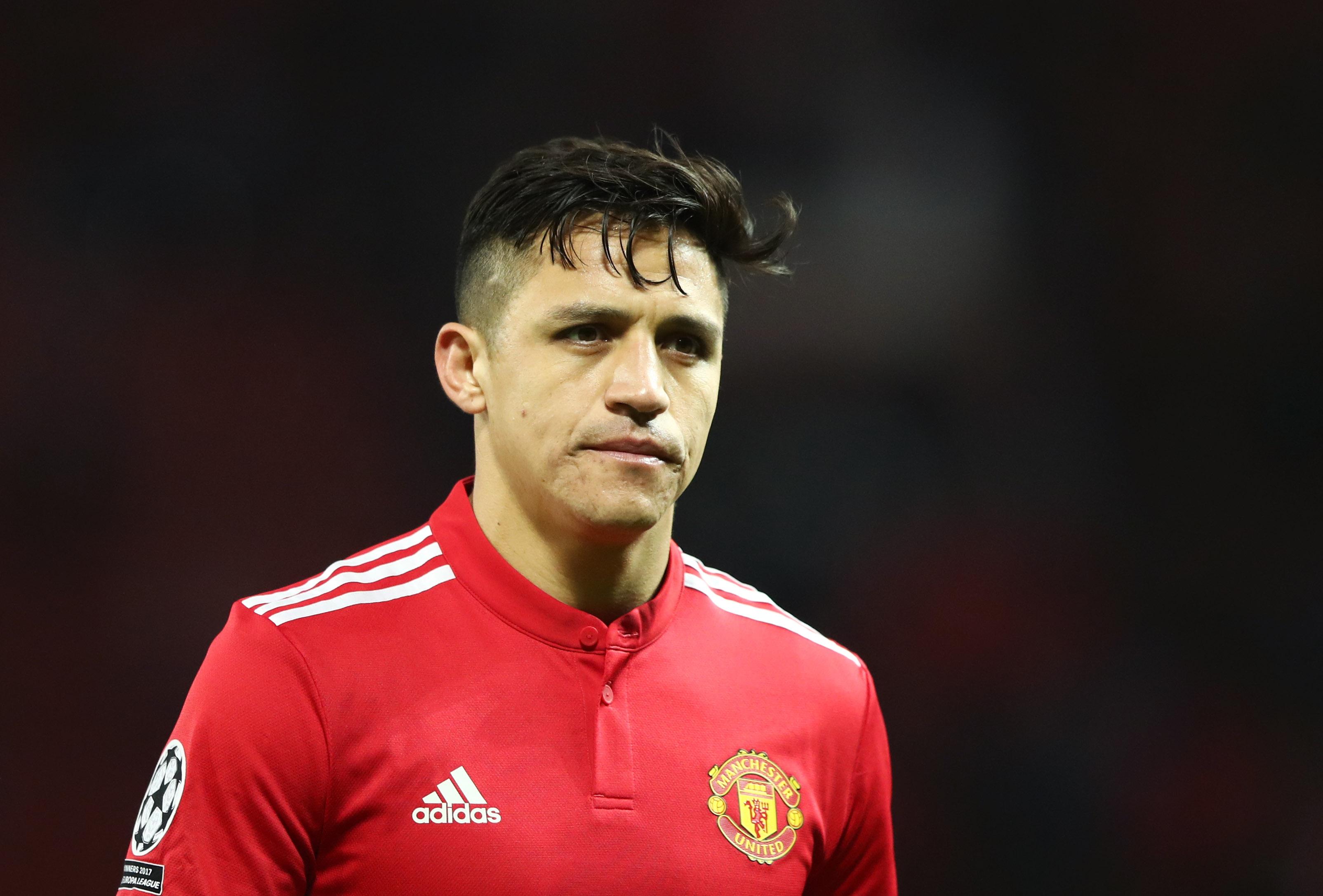 Alexis Sanchez - Manchester United - UEFA Champions League