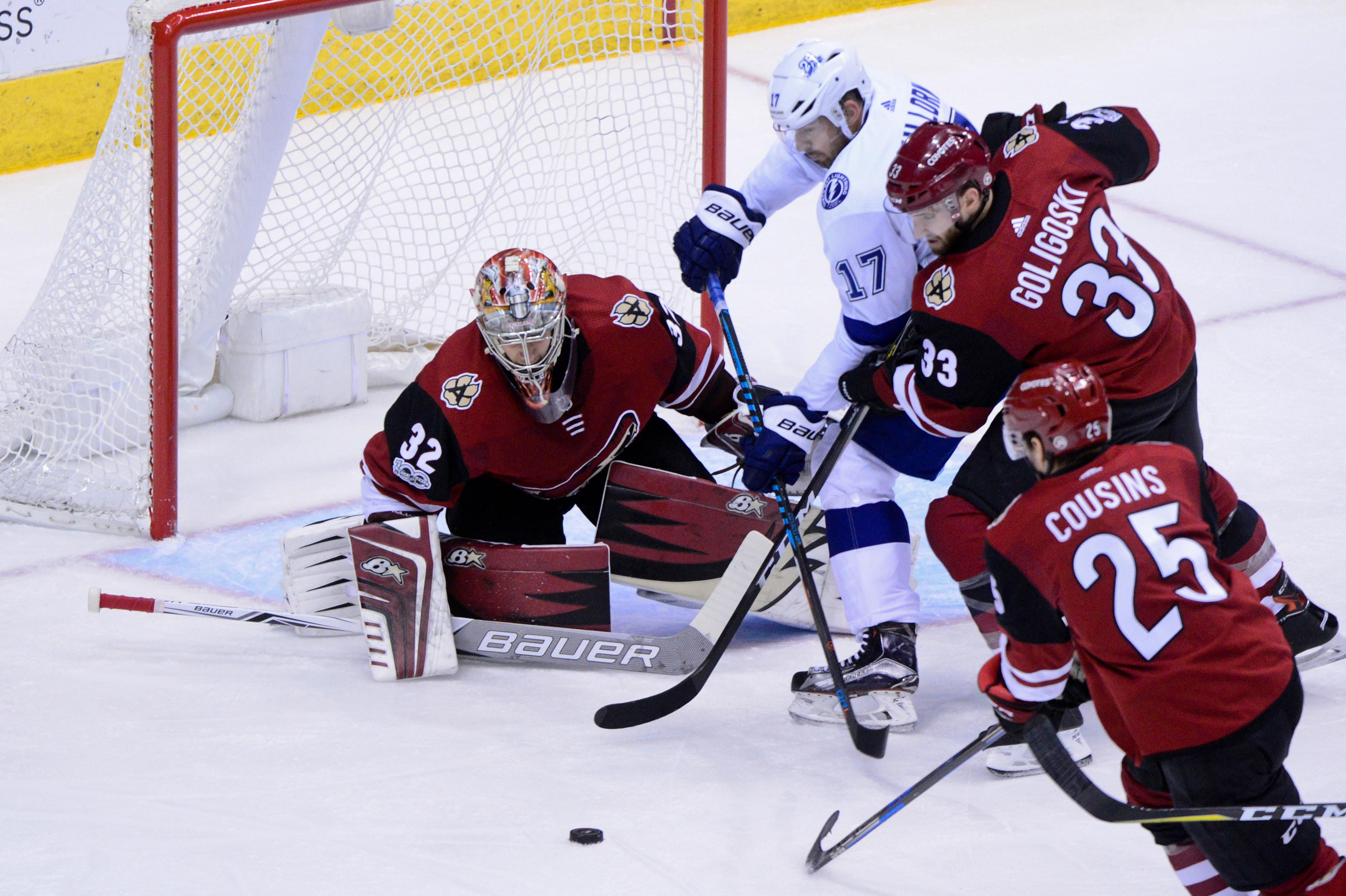 NHL: Tampa Bay Lightning at Arizona Coyotes