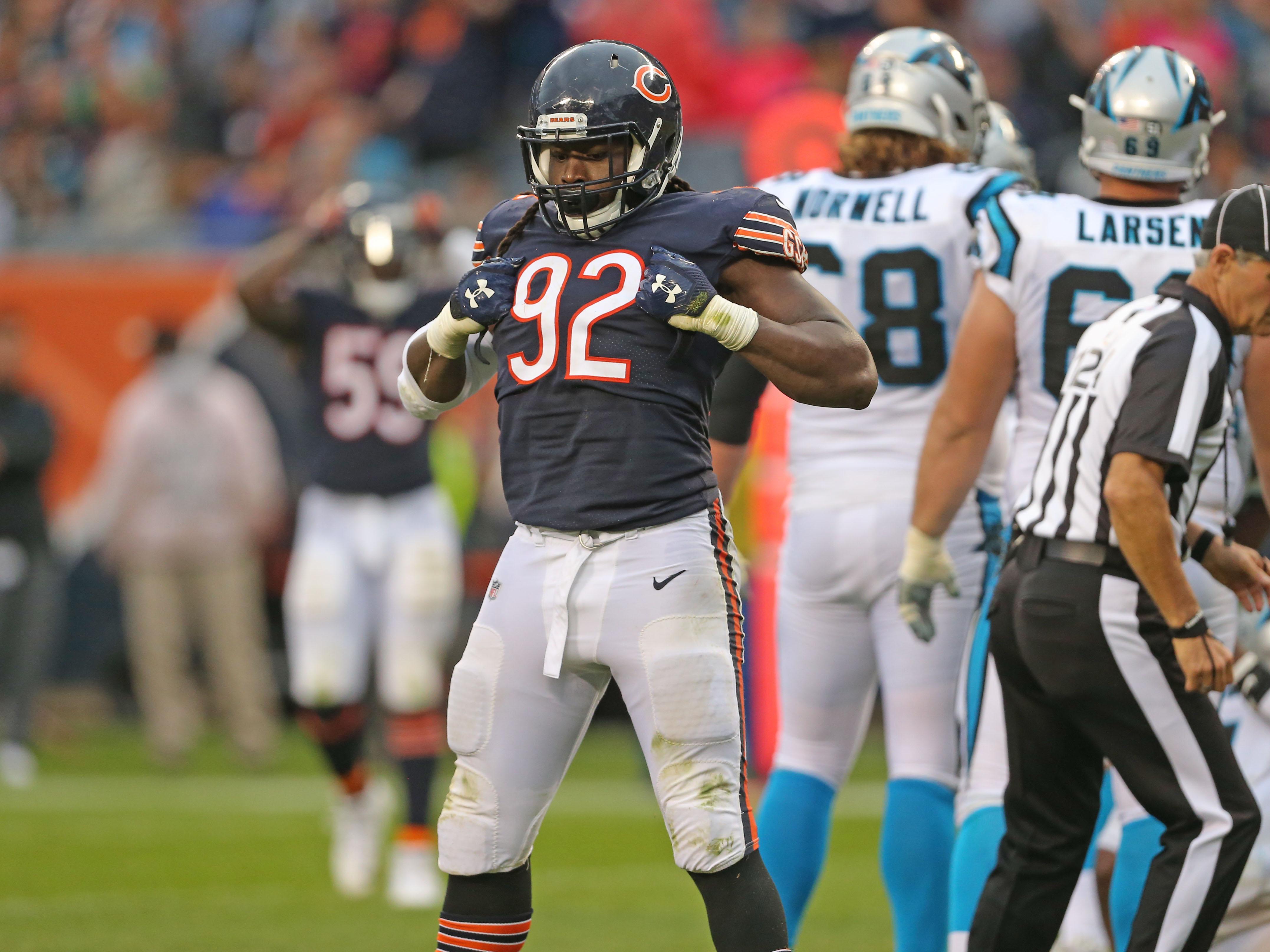 NFL: Carolina Panthers at Chicago Bears