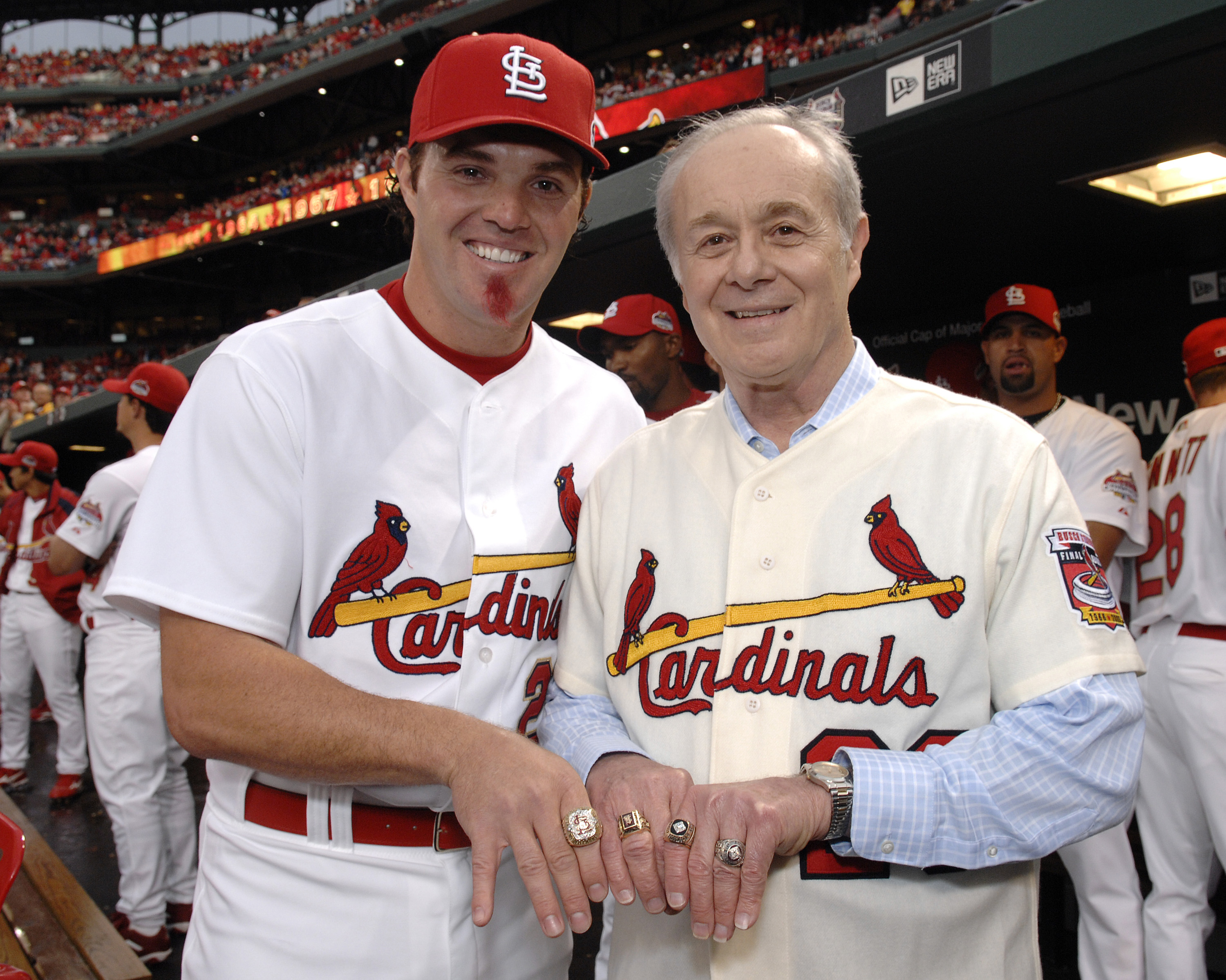 St. Louis Cardinals World Series Ring Ceremony