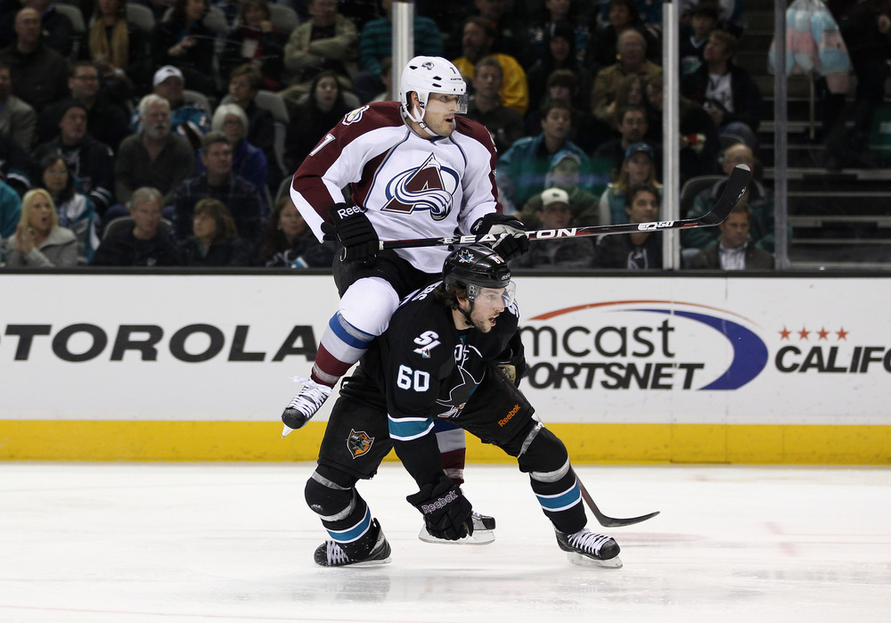 Demers might want to avoid giving on-ice piggyback rides in the future.