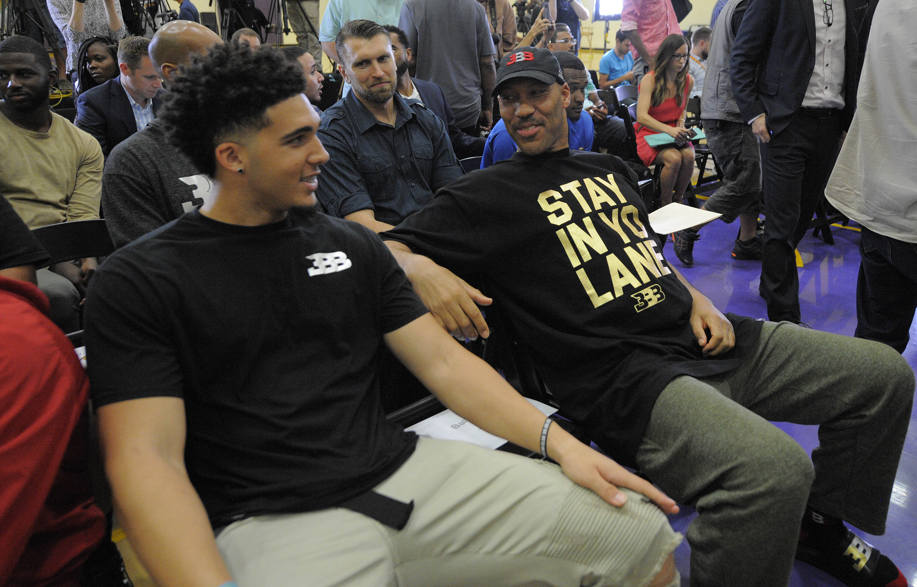 How LaVar Ball staged LiAngelo Ball's 72-point game after he declared for the NBA Draft