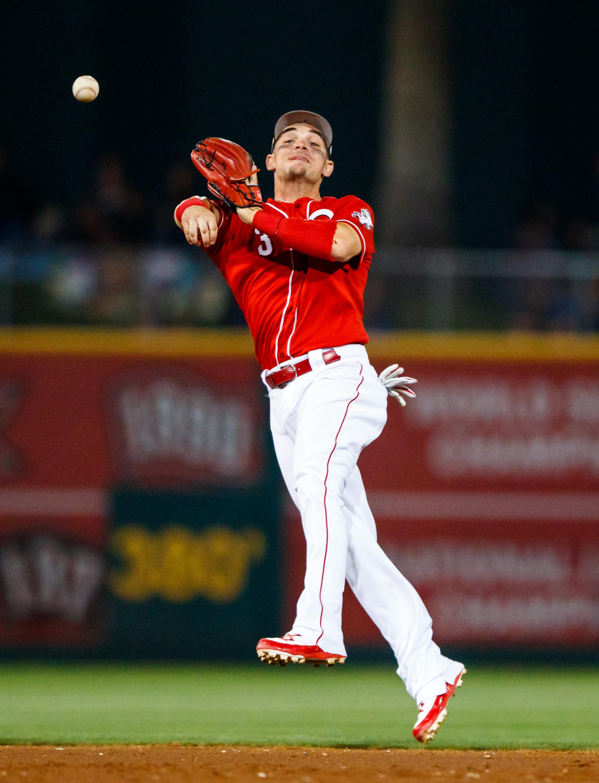 MLB: Spring Training-Texas Rangers at Cincinnati Reds