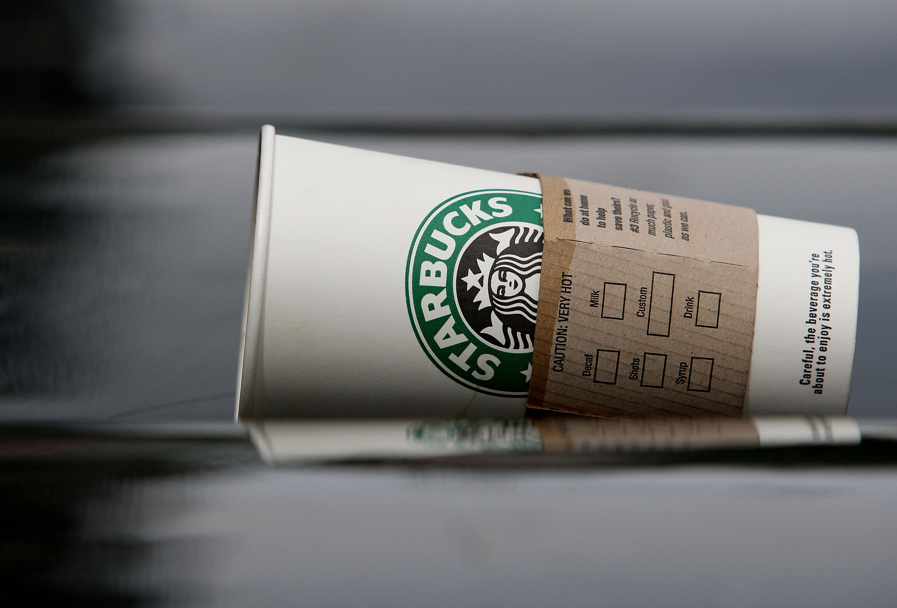 We're Buried in Starbucks Cups. What Are They Doing About It?
