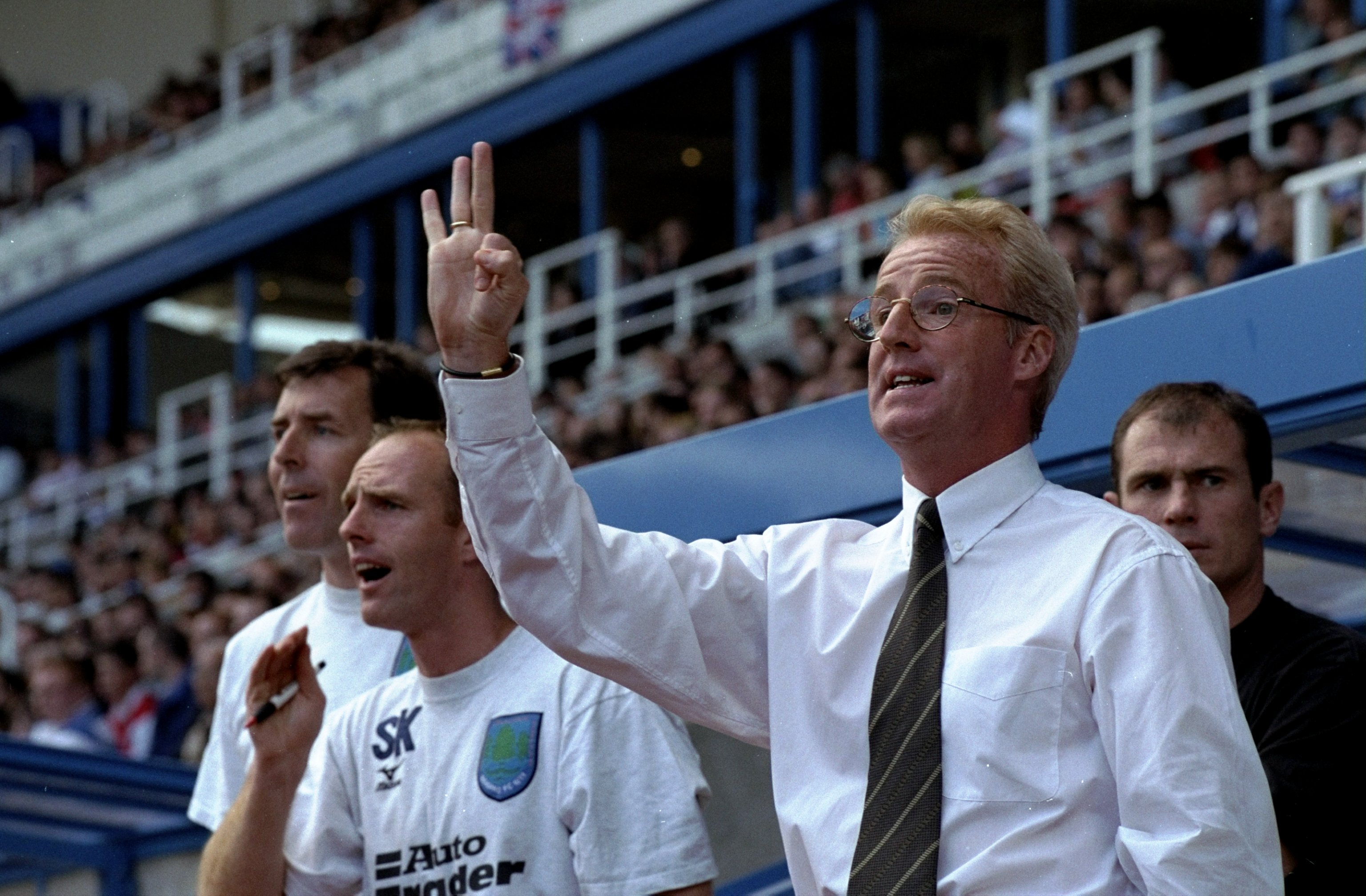 Tommy Burns the Reading manager...
