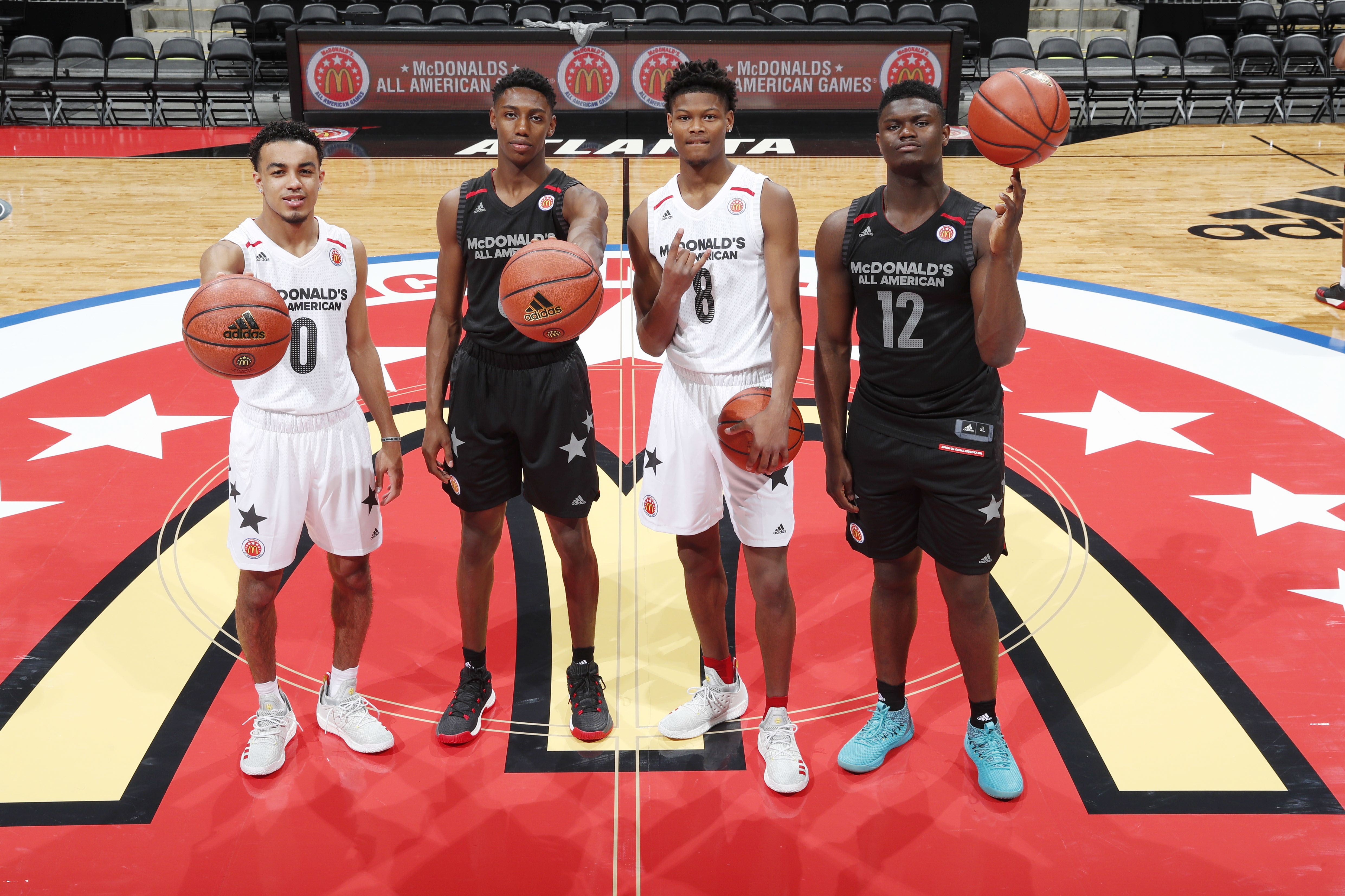 reputable site 86c4f cad99 NBA Apparel 2018 McDonalds All American Game - Peachtree Hoo