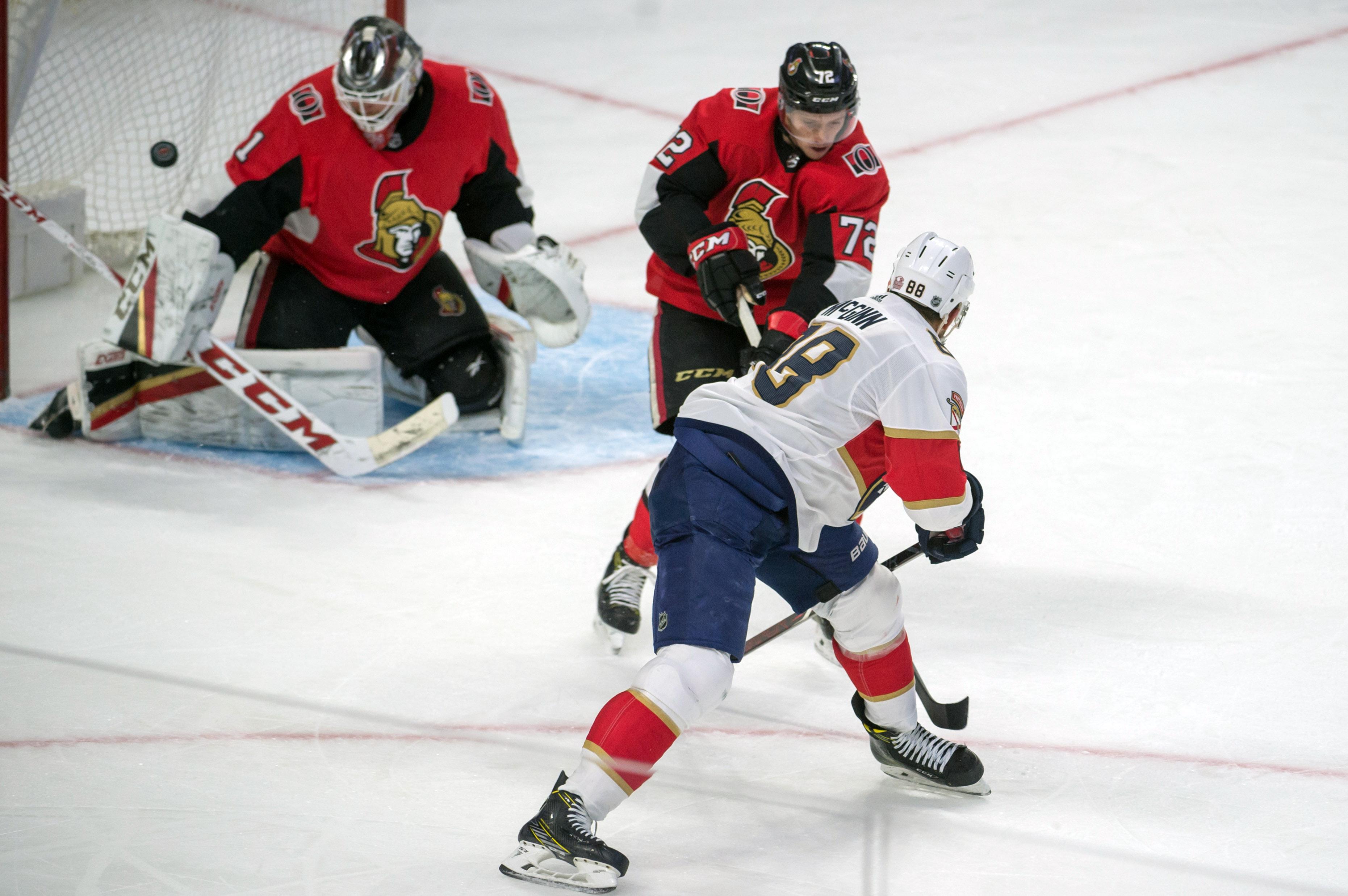 NHL: Florida Panthers at Ottawa Senators
