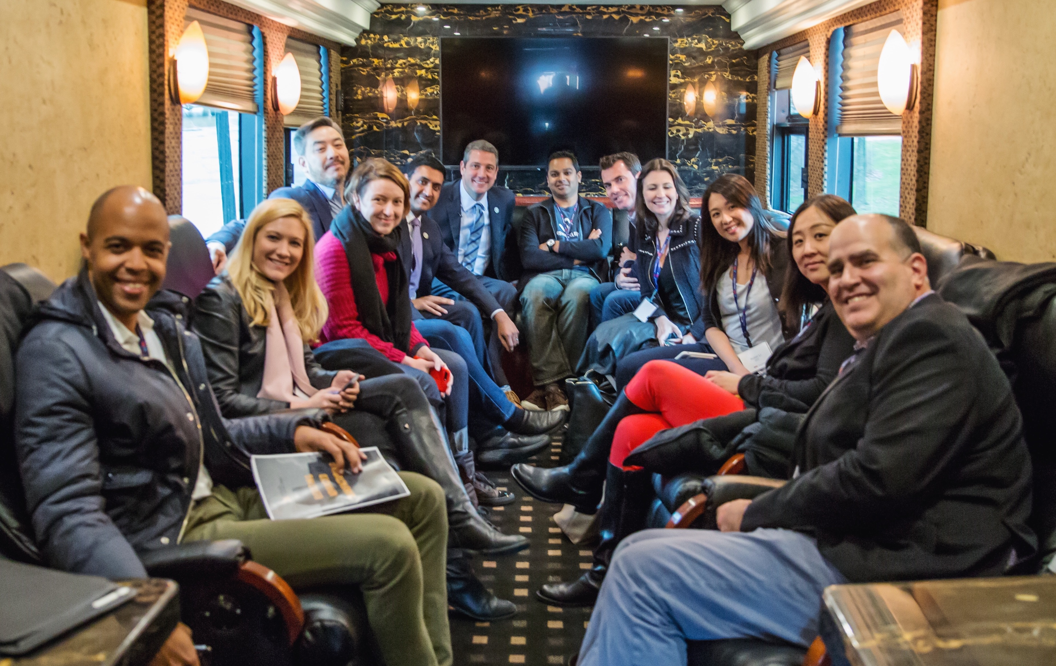 On the bus with Silicon Valley VCs and D.C. congressmen for the Comeback Cities Tour