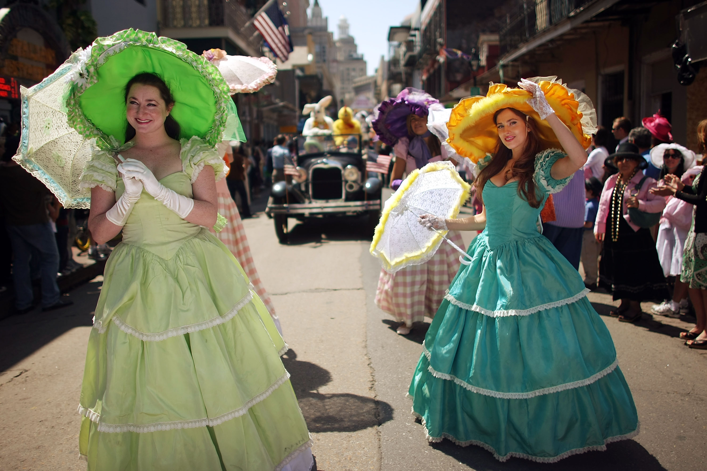 New Orleans Celebrates Easter Sunday