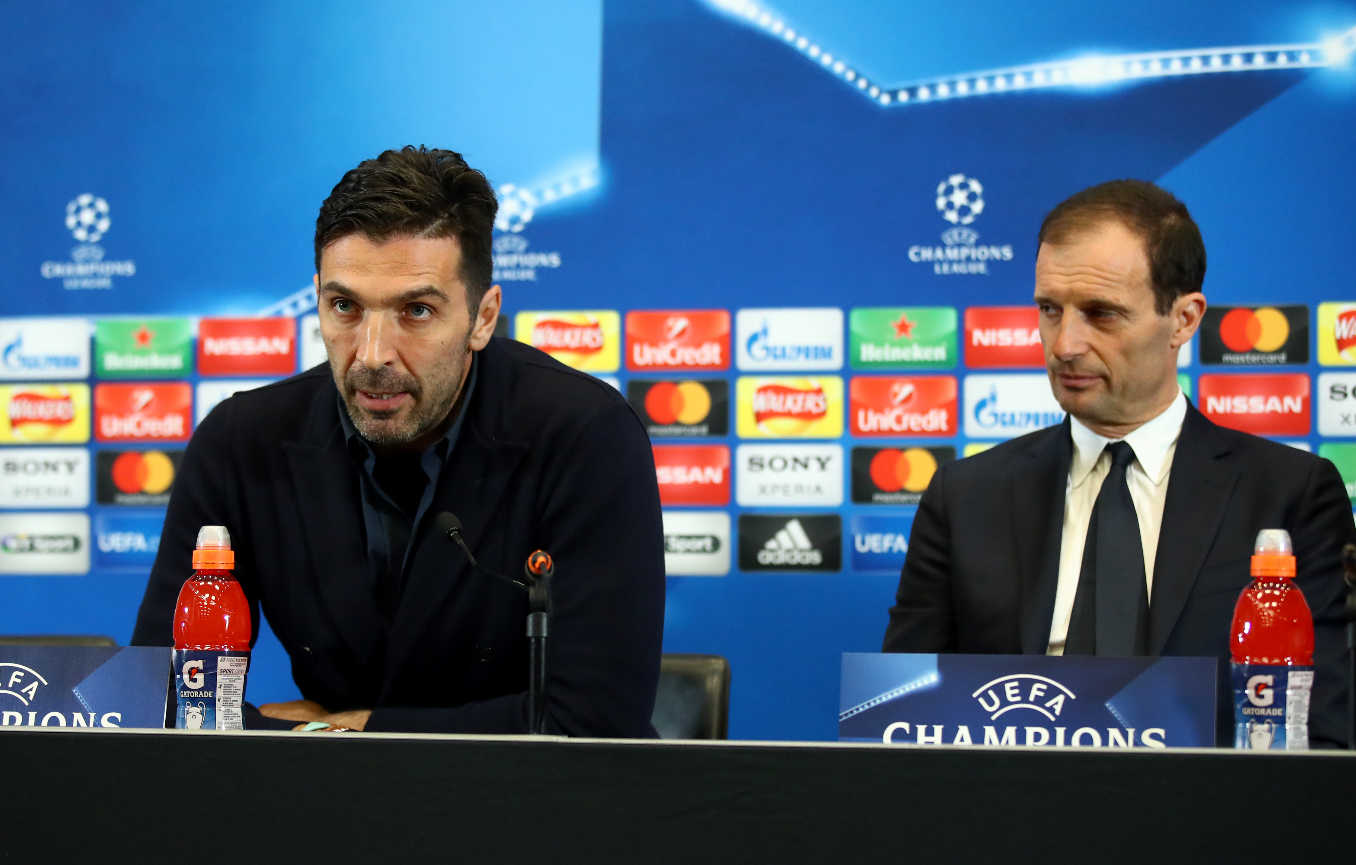 Juventus Stadium Press Conference