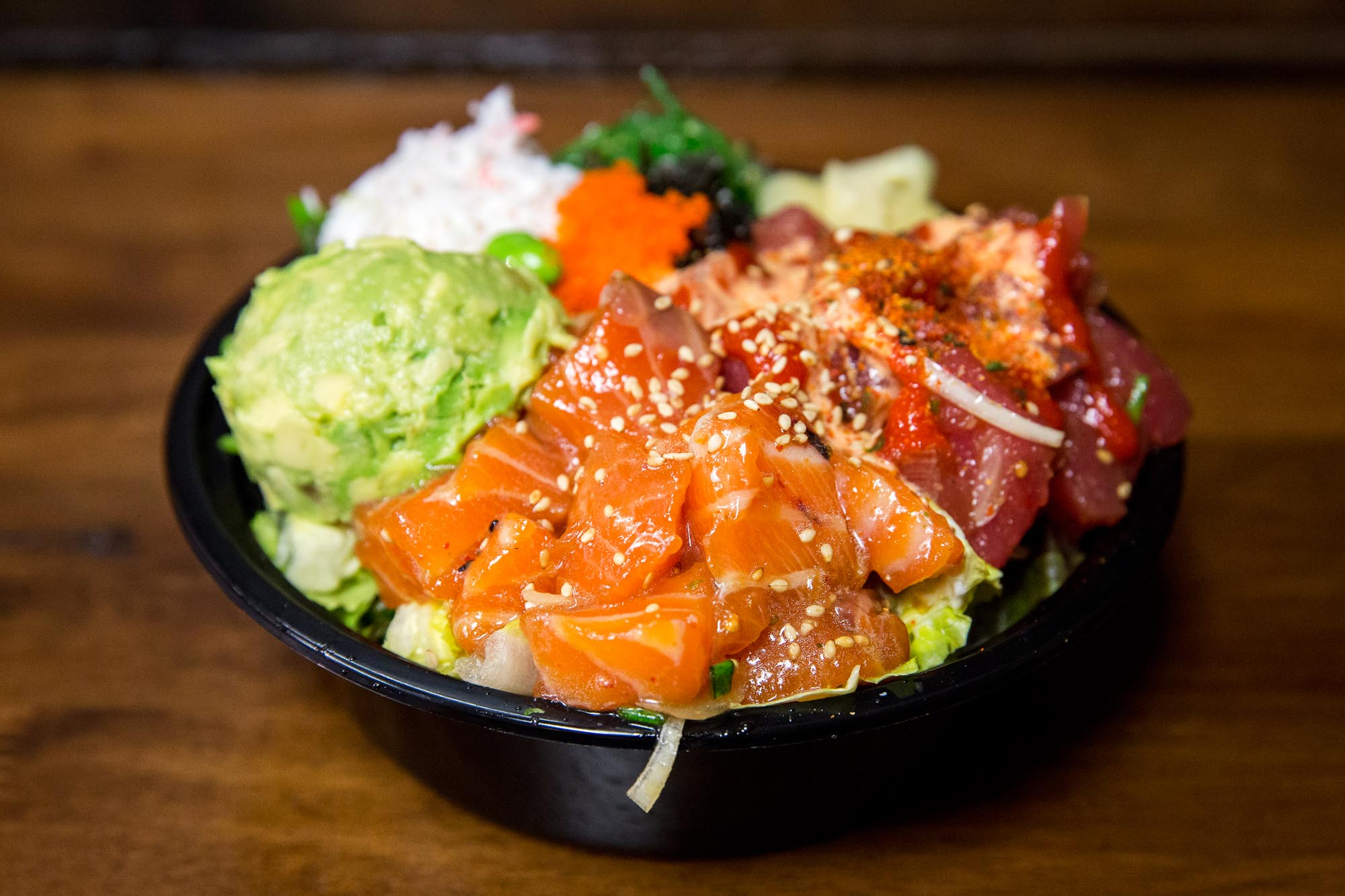 45th Stop and Shop and Poke Bar in Wallingford is one of Seattle's most popular places to get poke.
