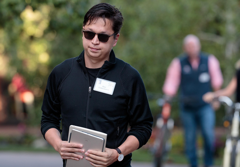 Pinterest CEO Ben Silbermann.