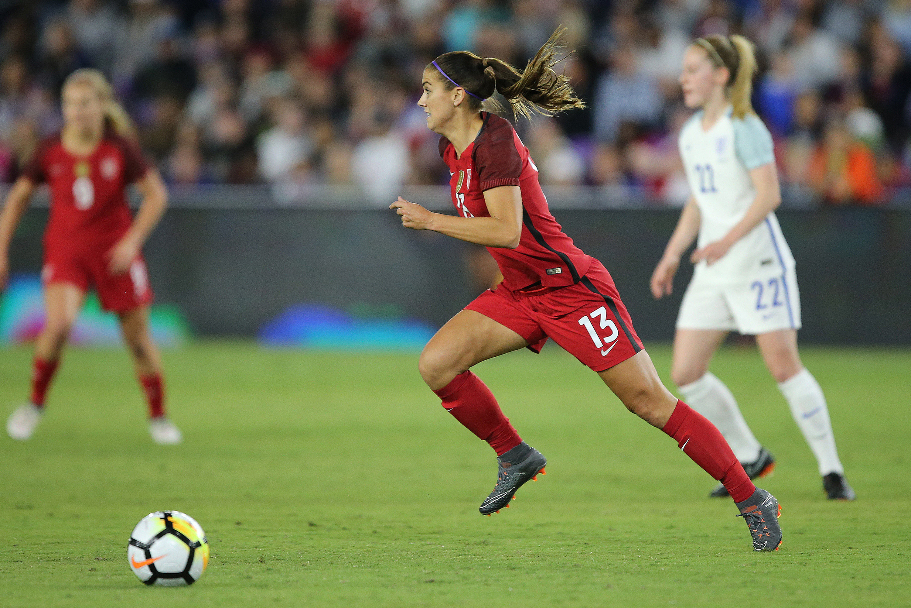fb89922ed4e Alex Morgan will play herself in a family film - Stars and Stripes FC