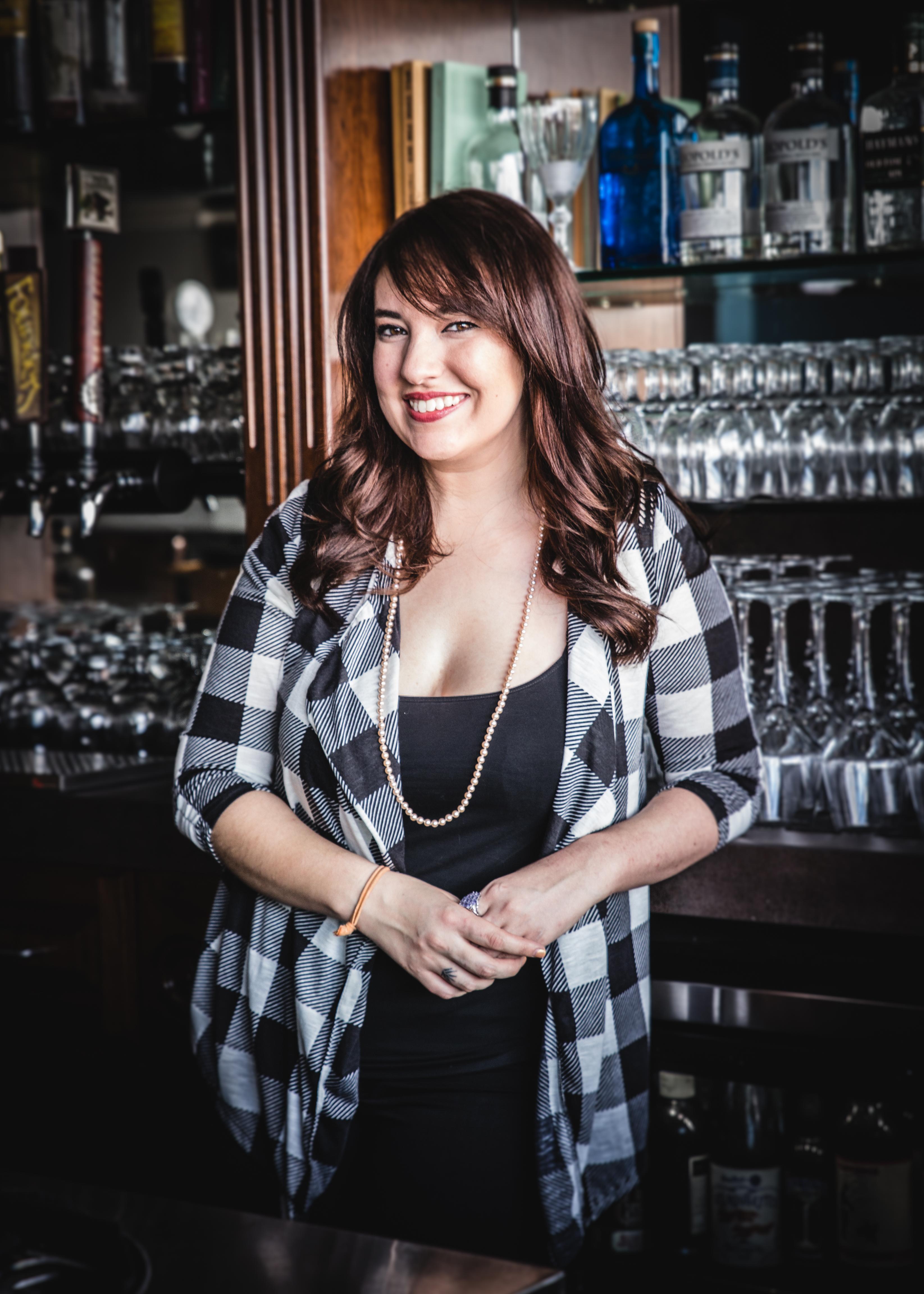 Katie Cruz at Atomic Liquors