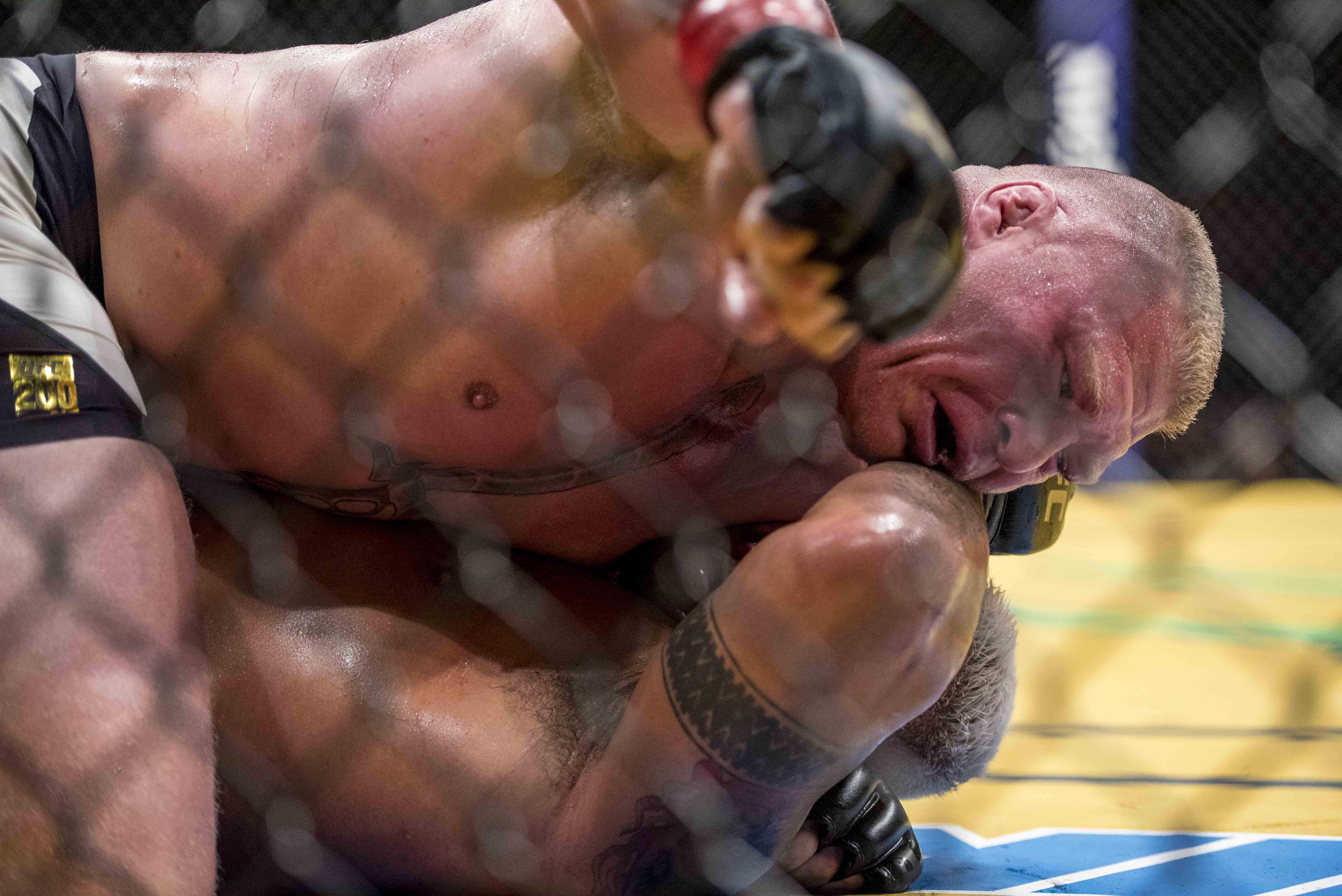 MMA: UFC 200-Lesnar vs Hunt