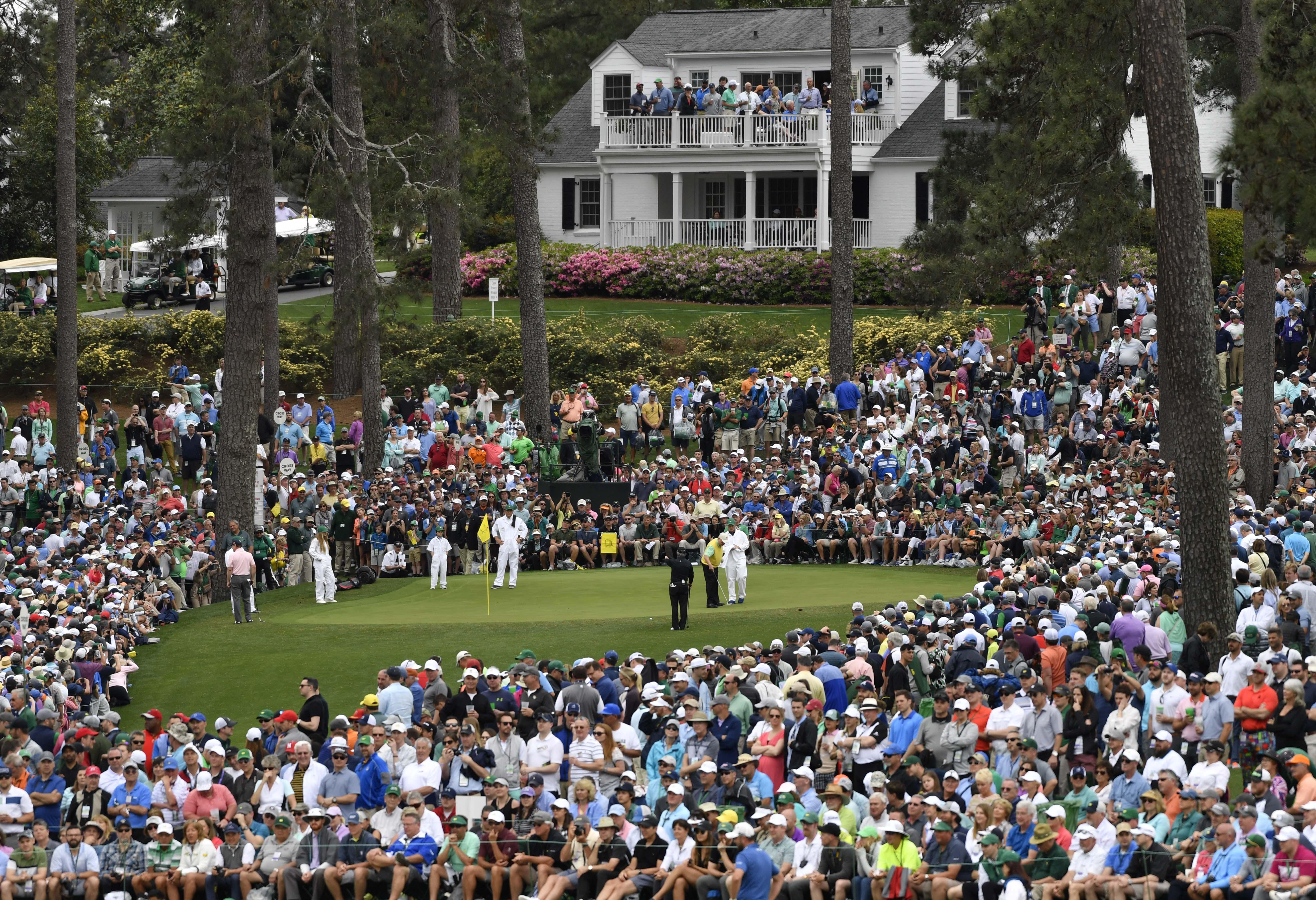 PGA: Masters Tournament - Par 3 Contest
