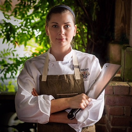 Chef Savannah Sasser is in as the executive chef of The Expat in Athens
