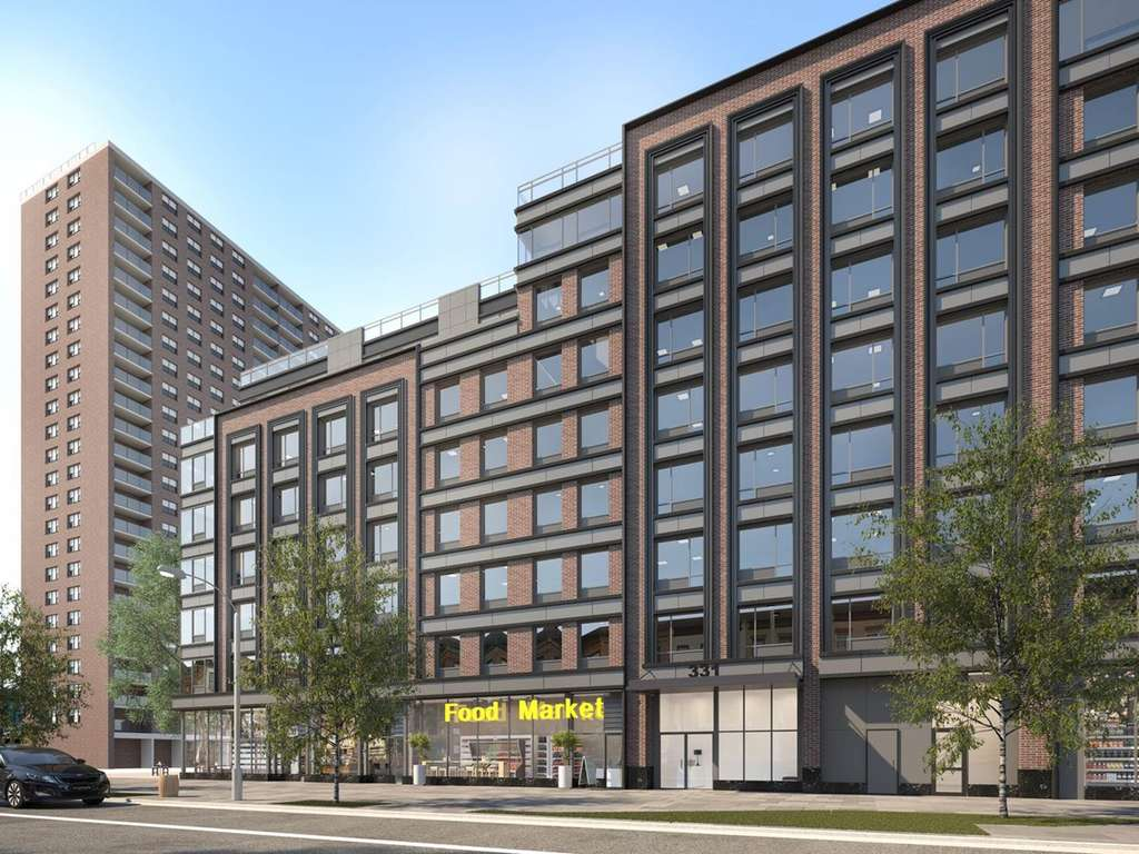 Supermarket Replacing Rental In Clinton Hill Unveils Lottery Units From  $2,030/month